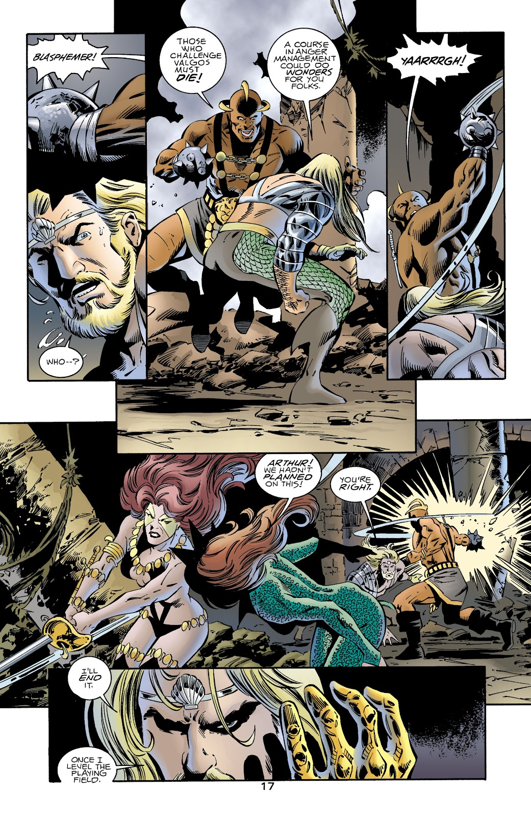 Aquaman (1994) Issue #72 #78 - English 16