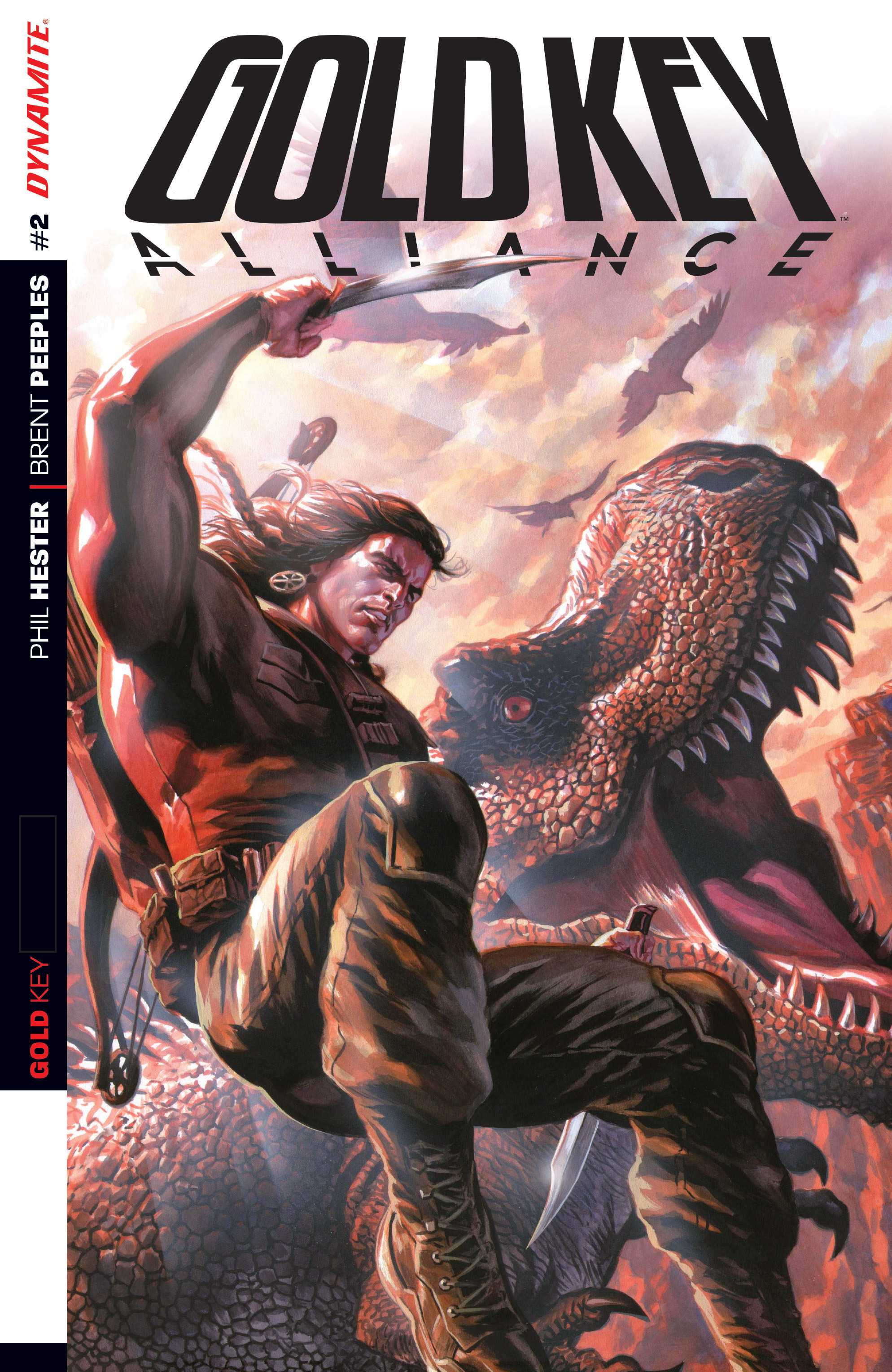 Read online Gold Key: Alliance comic -  Issue #2 - 1