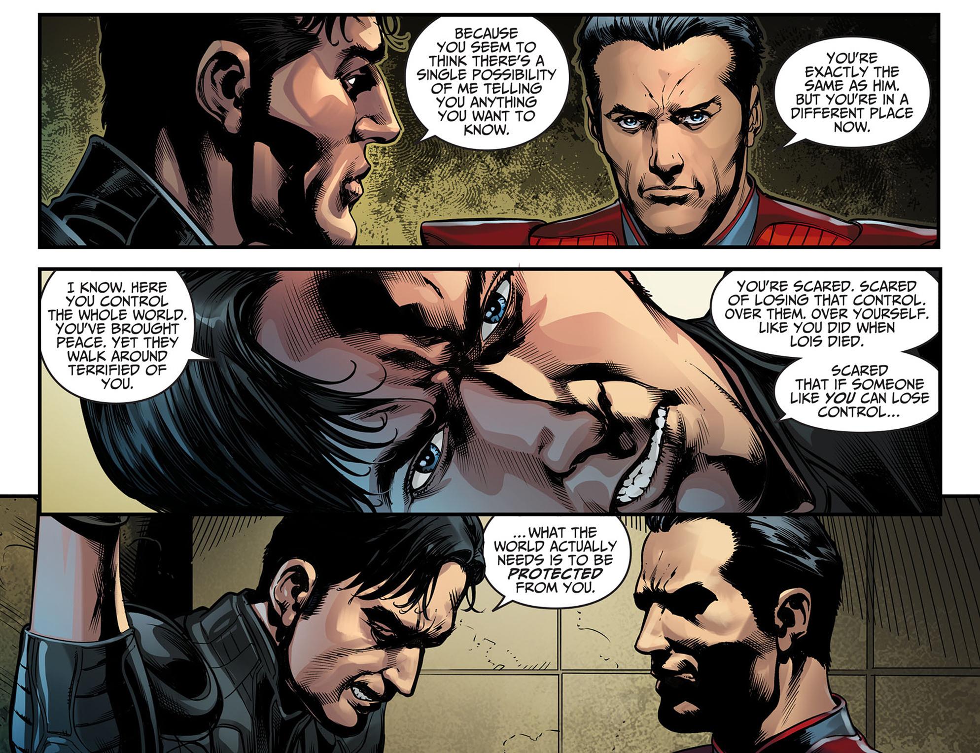 Read online Injustice: Ground Zero comic -  Issue #6 - 21