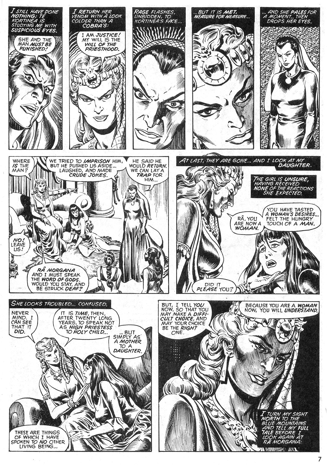 The Savage Sword Of Conan Issue #29 #30 - English 7