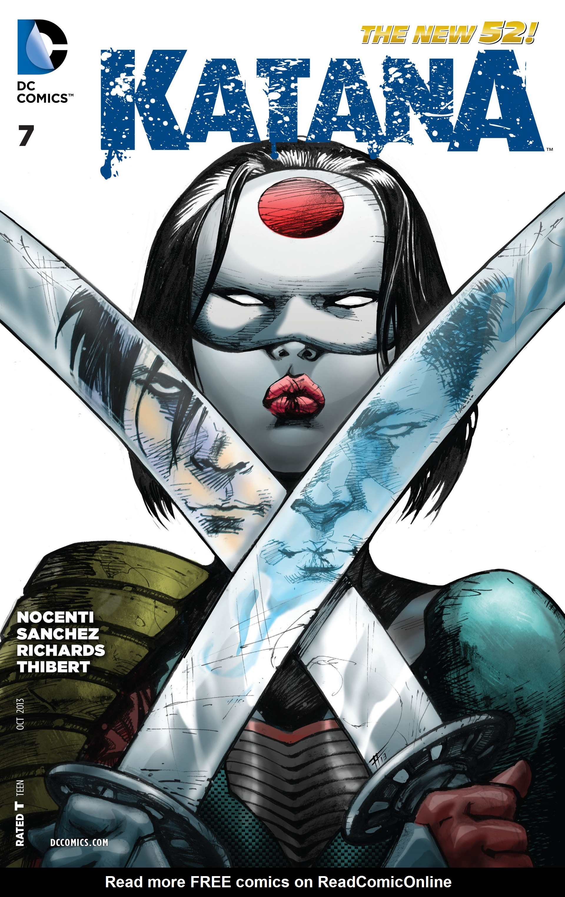 Read online Katana comic -  Issue #7 - 1