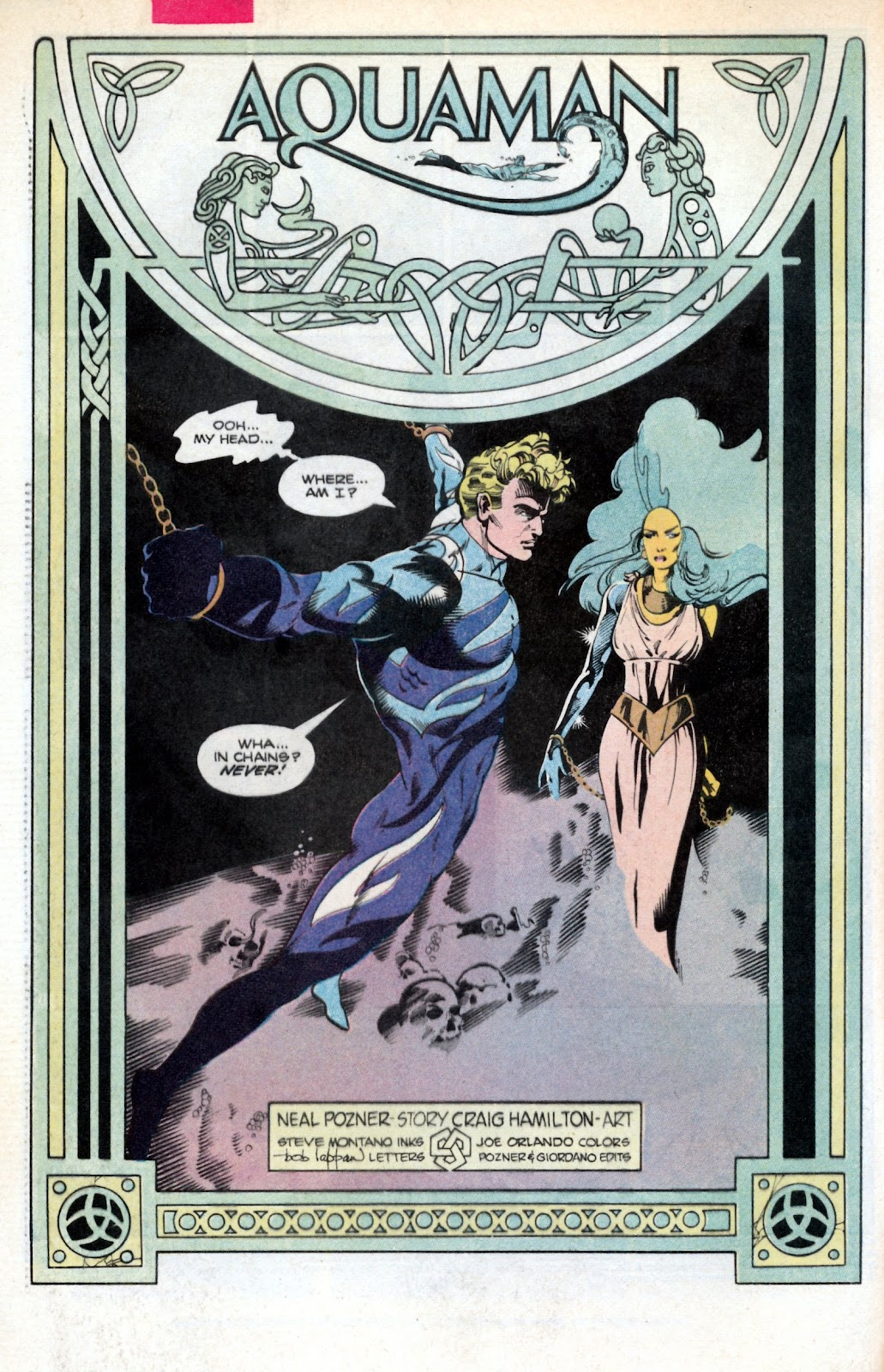Aquaman (1986) Issue #2 #2 - English 4