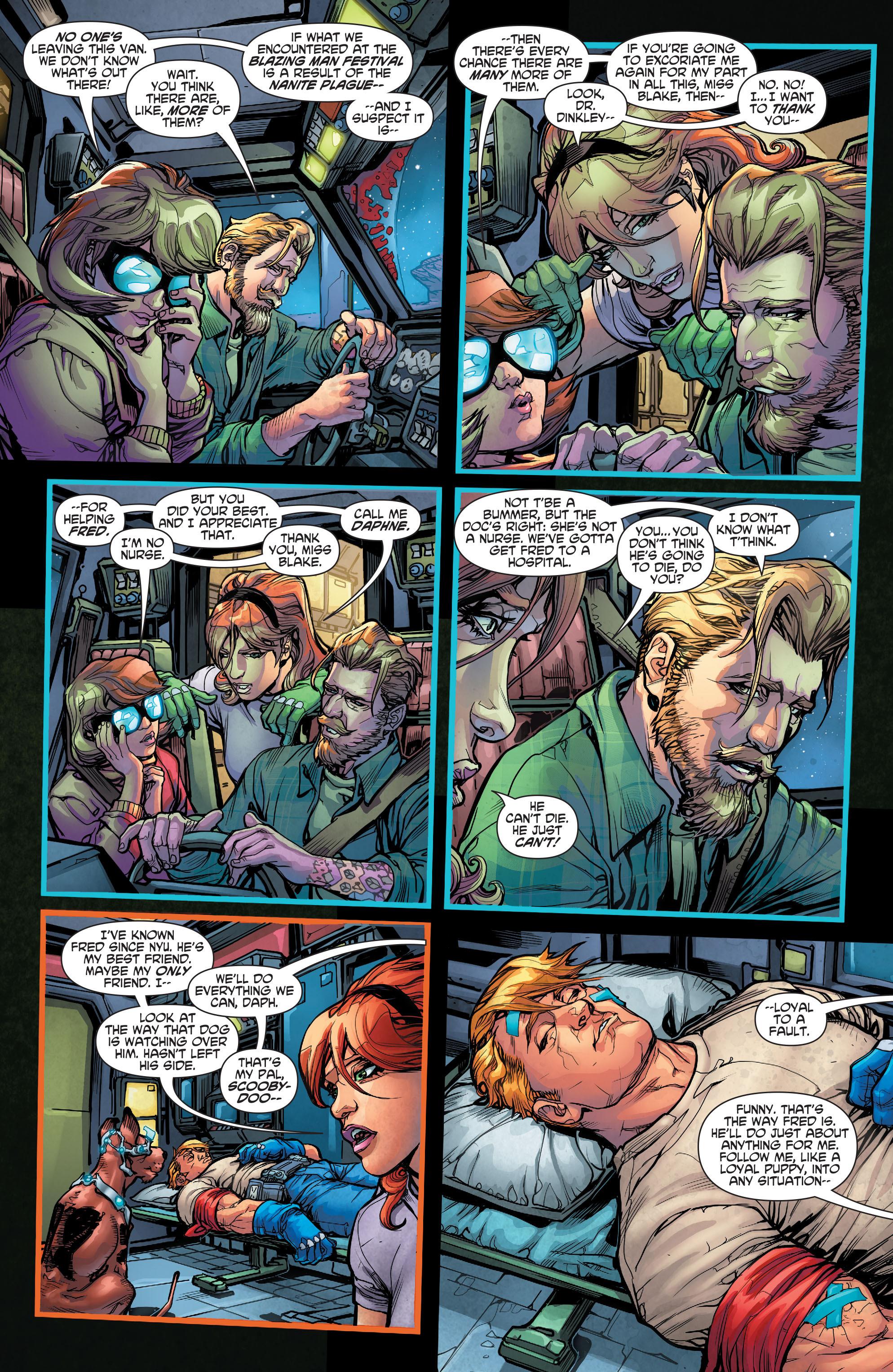 Read online Scooby Apocalypse comic -  Issue #3 - 5