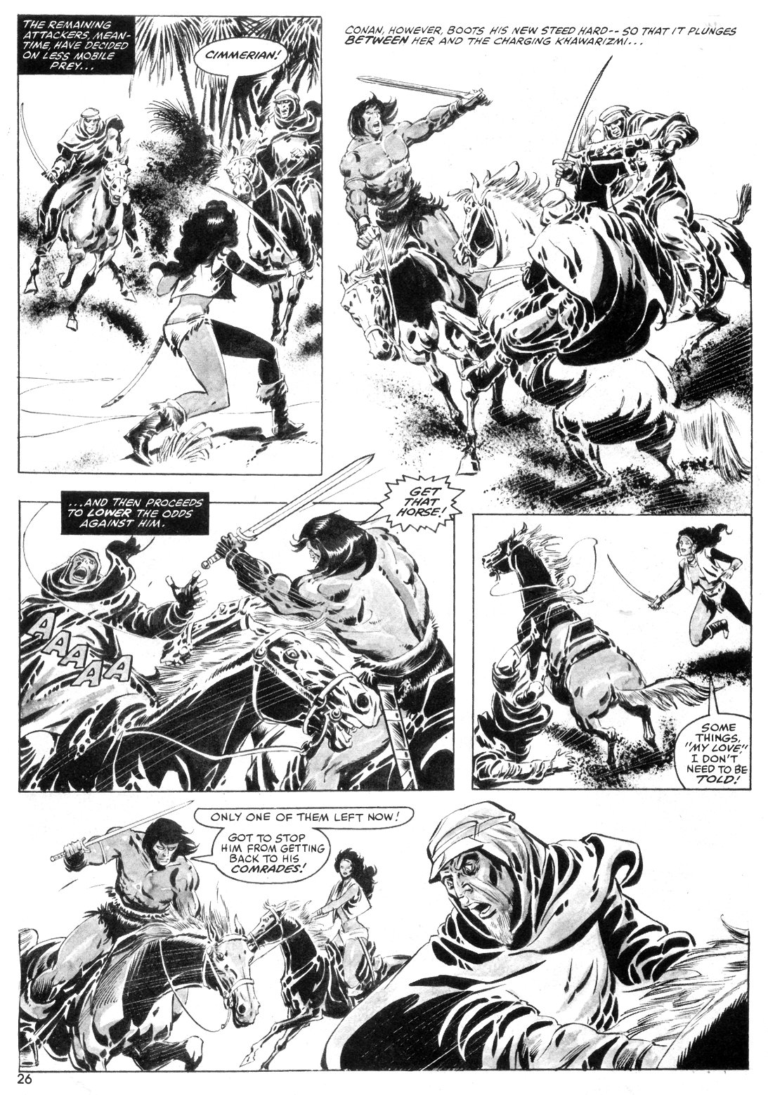 The Savage Sword Of Conan Issue #55 #56 - English 26