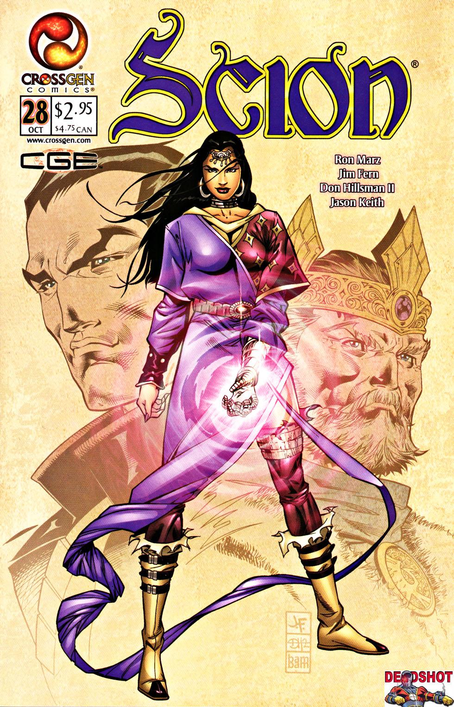 Read online Scion comic -  Issue #28 - 1