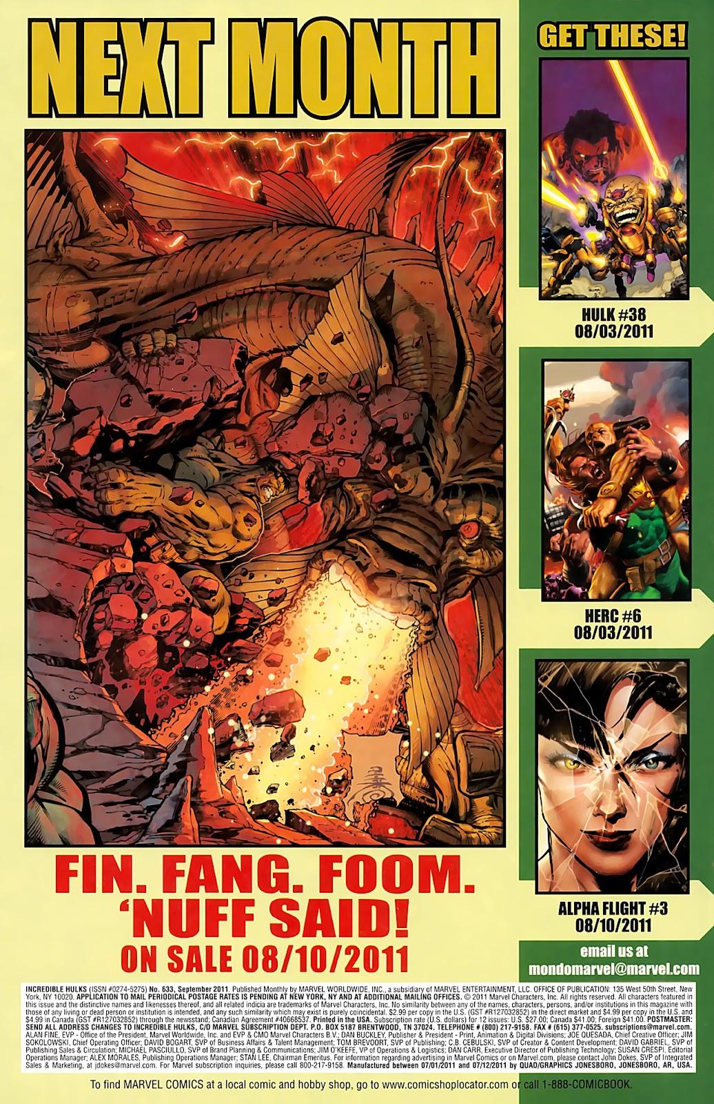 Incredible Hulks (2010) Issue #633 #23 - English 22