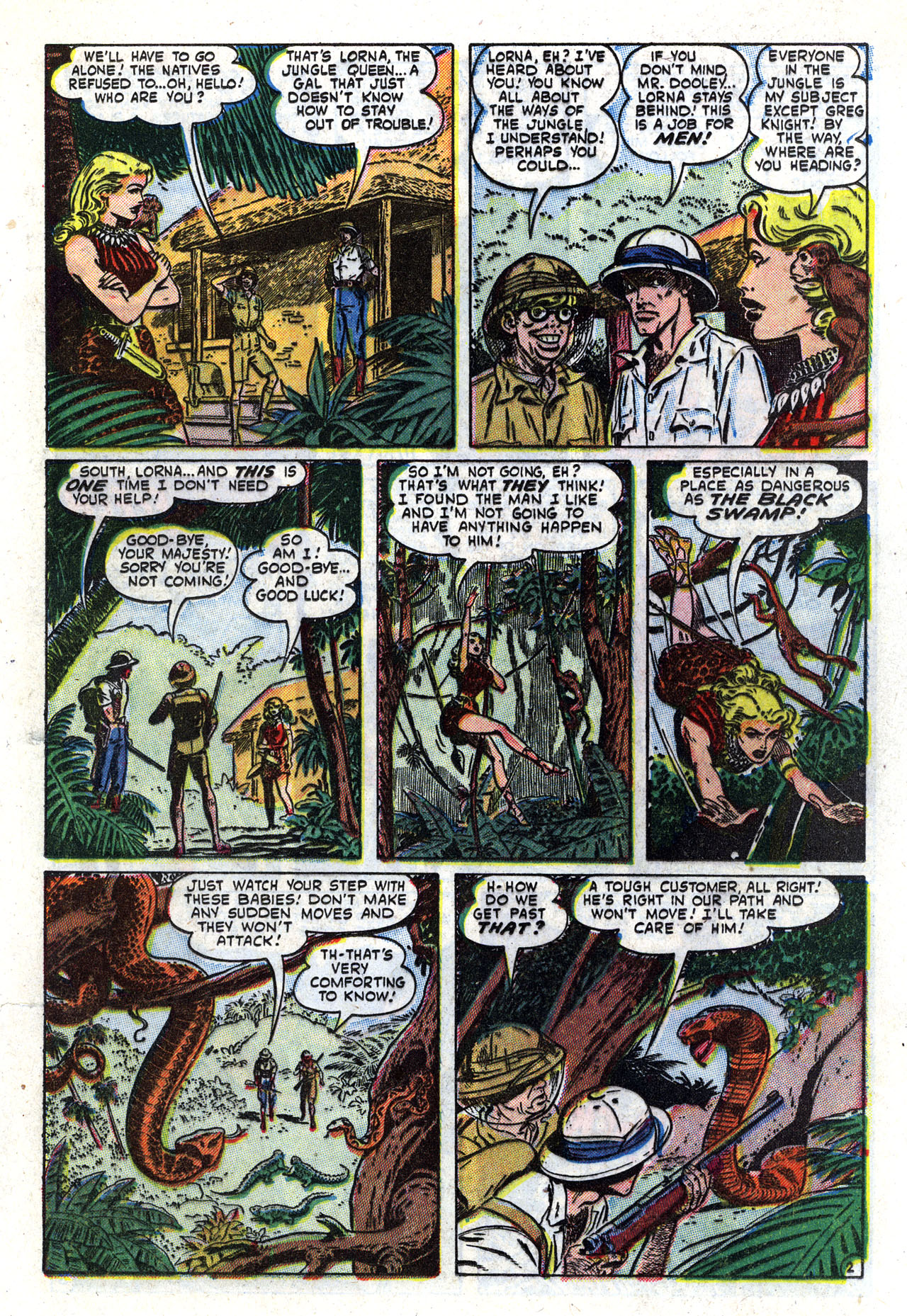 Read online Lorna, The Jungle Queen comic -  Issue #2 - 13