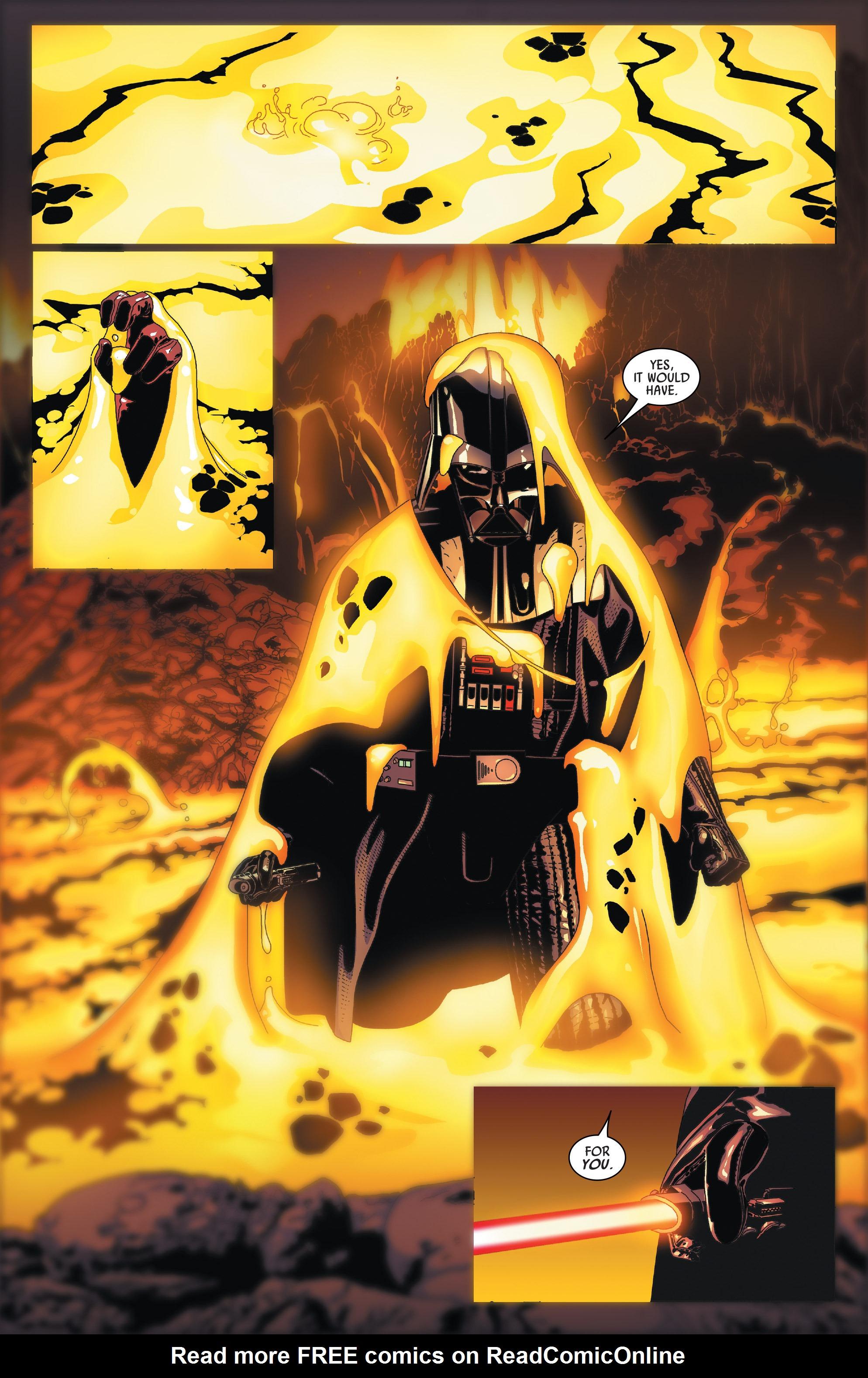 Read online Darth Vader comic -  Issue #24 - 8