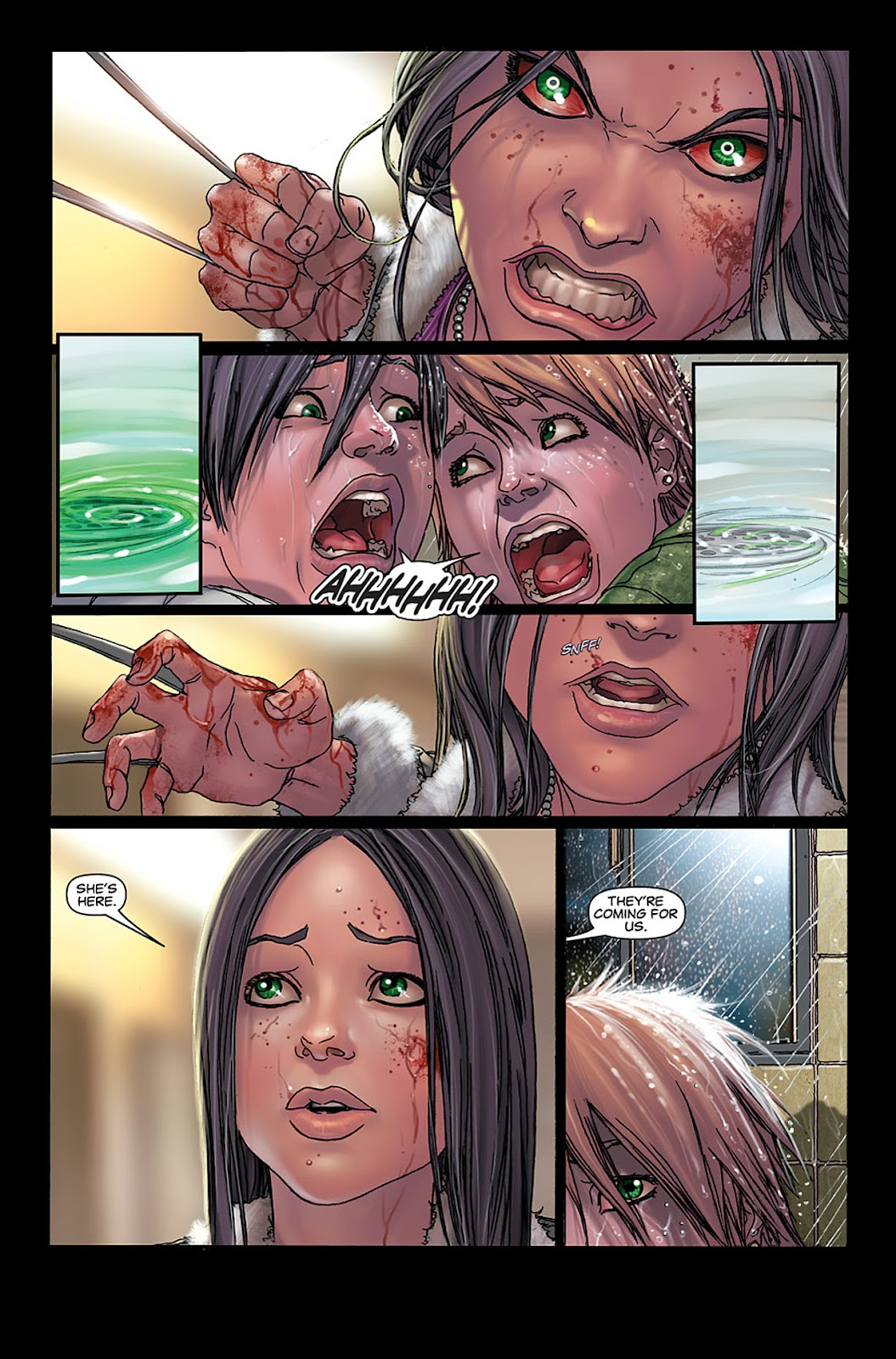 X-23: Target X Issue #4 #4 - English 9