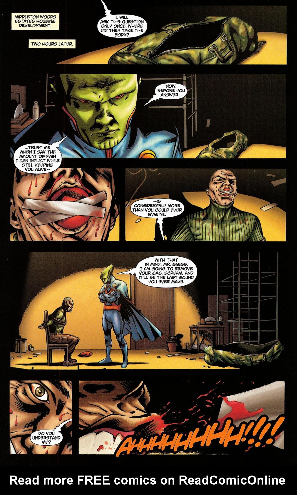 Read online Martian Manhunter (2006) comic -  Issue #5 - 12
