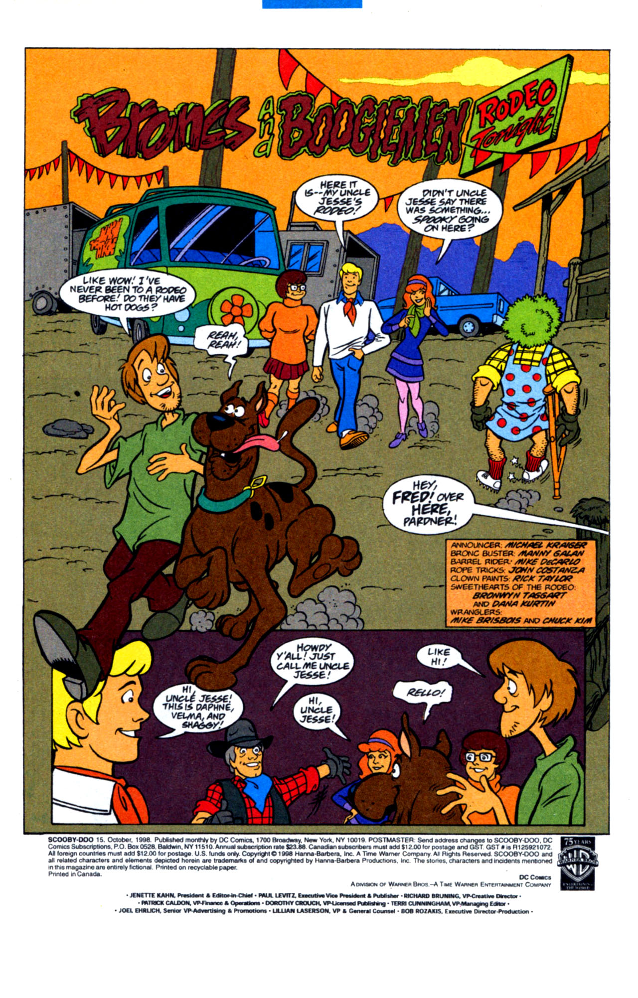 Read online Scooby-Doo (1997) comic -  Issue #15 - 3