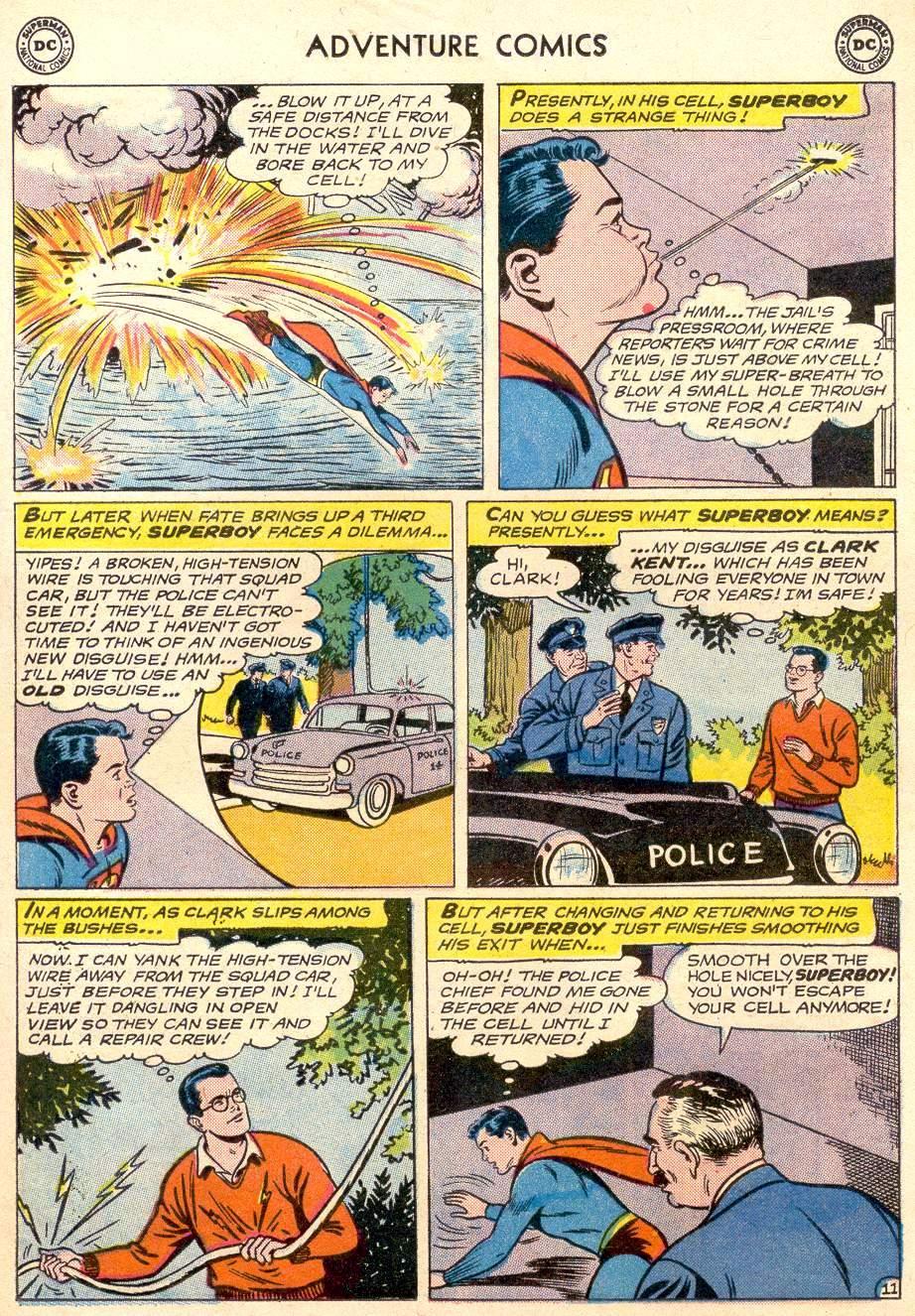 Read online Adventure Comics (1938) comic -  Issue #256 - 13