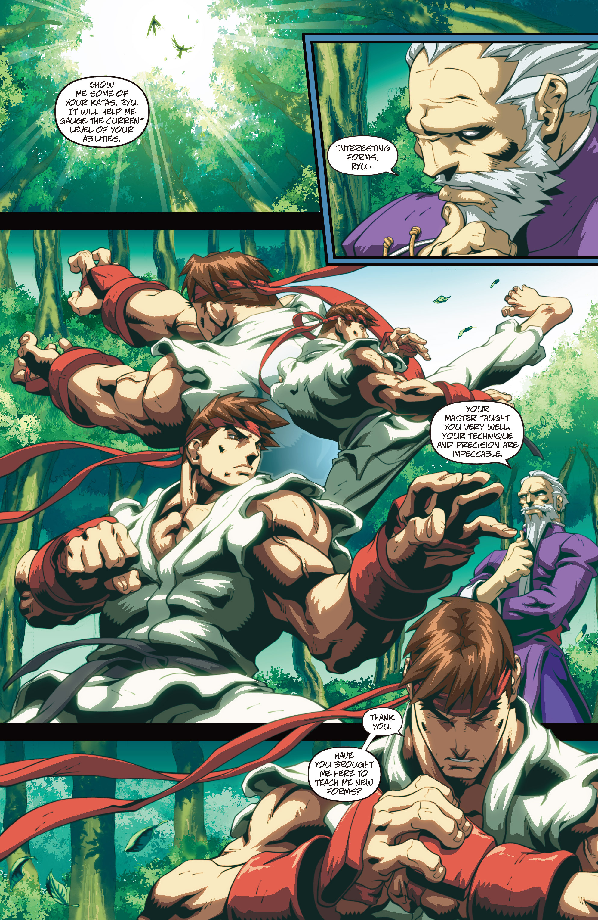 Street Fighter II chap 4 pic 10