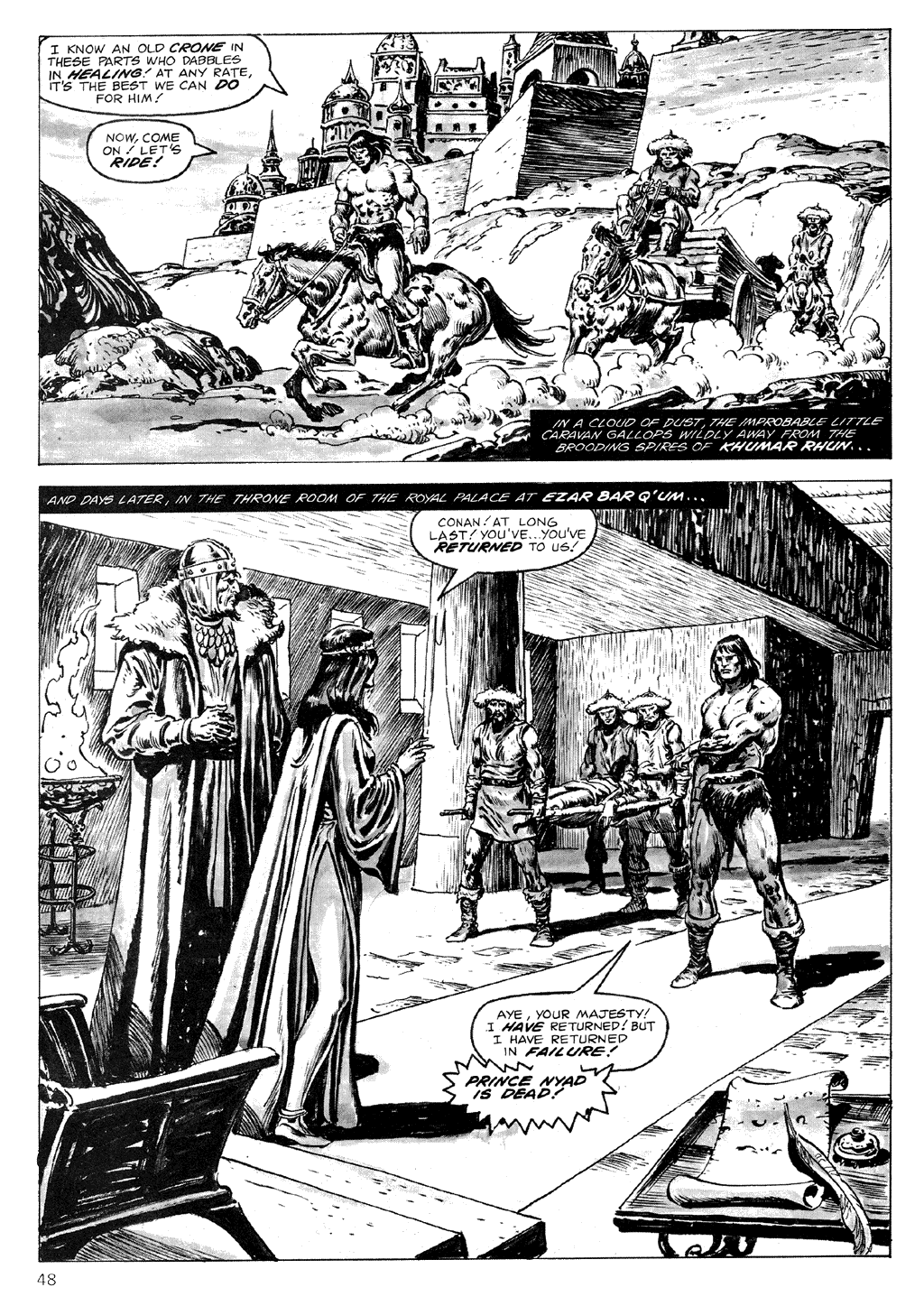 The Savage Sword Of Conan Issue #71 #72 - English 48