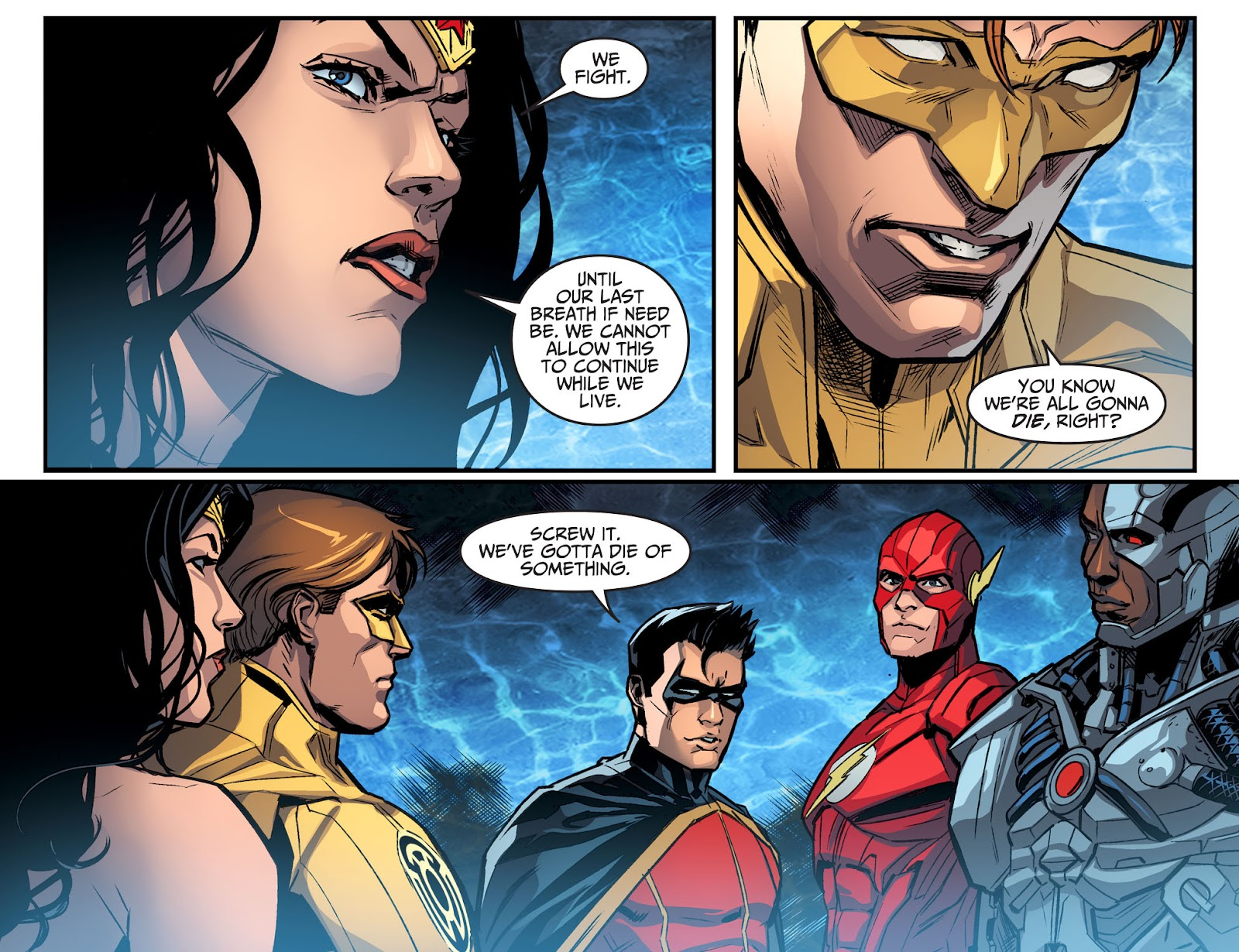 Injustice: Gods Among Us Year Four Issue #22 #23 - English 21