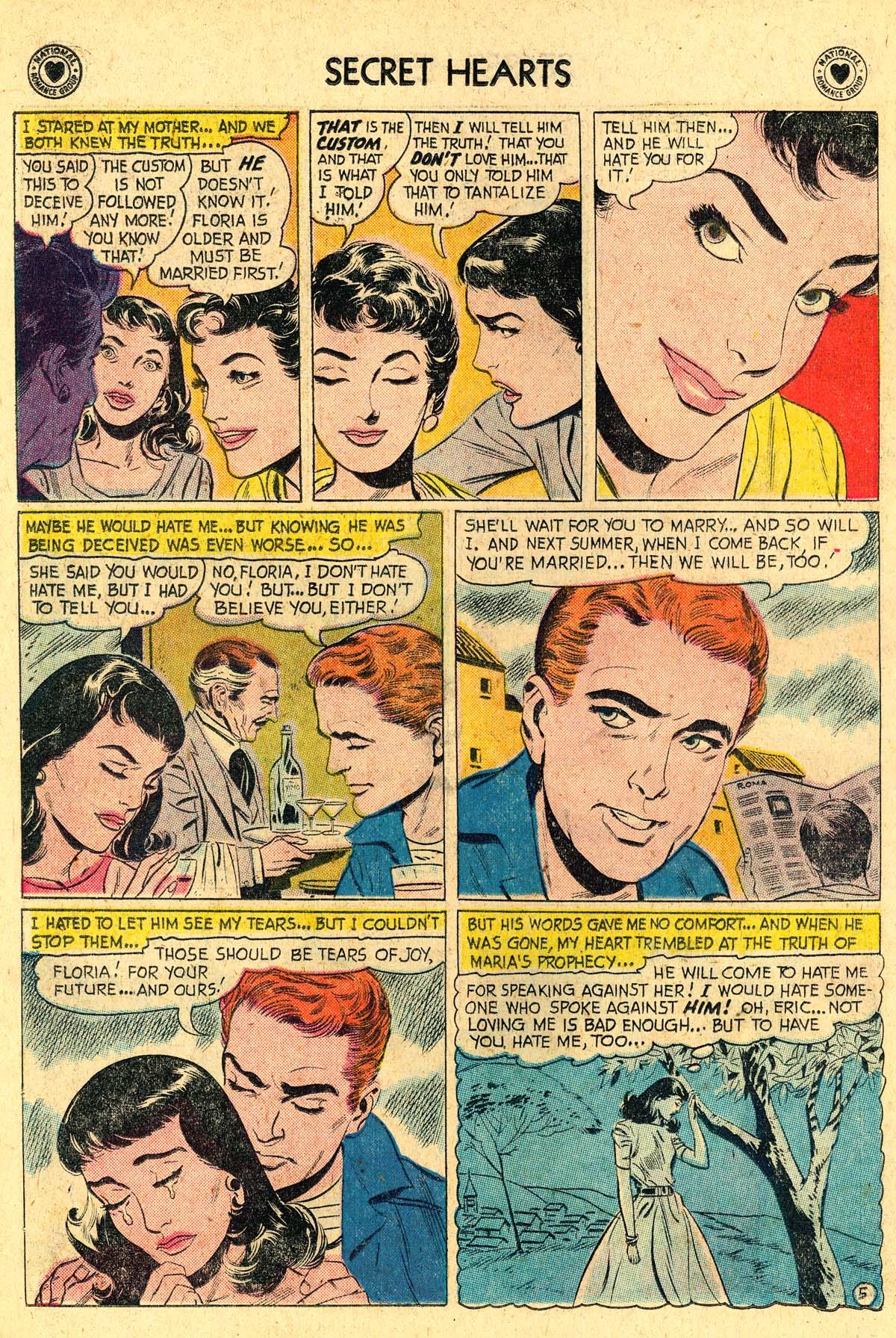 Read online Secret Hearts comic -  Issue #57 - 22