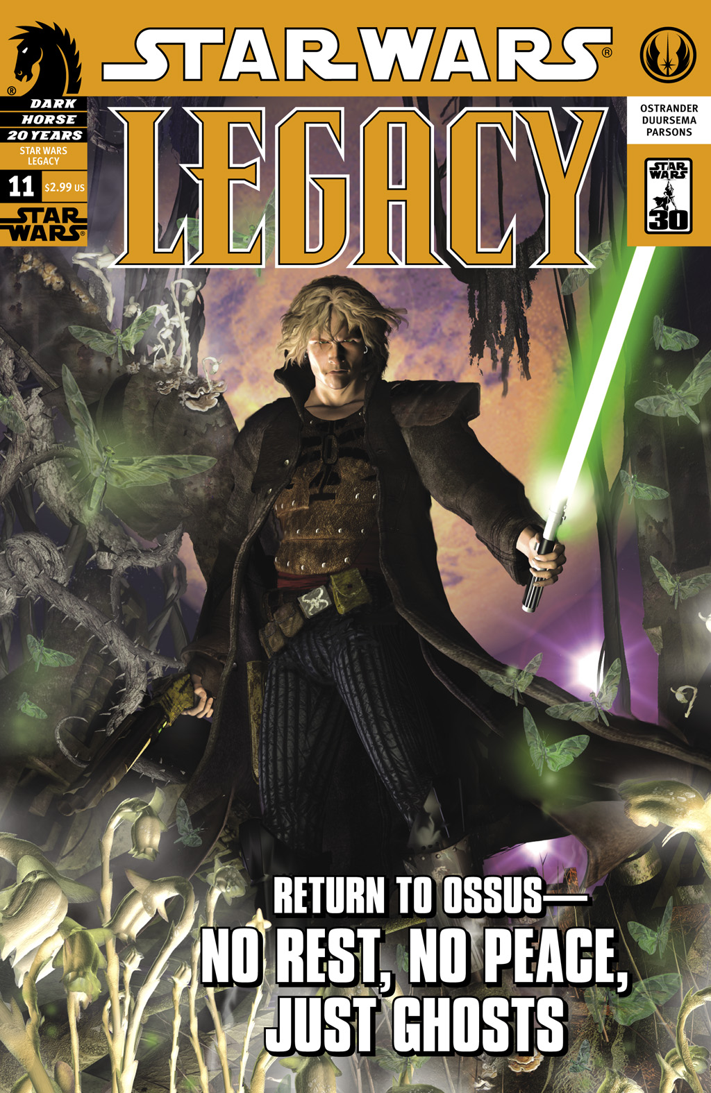 Star Wars: Legacy (2006) issue 11 - Page 1