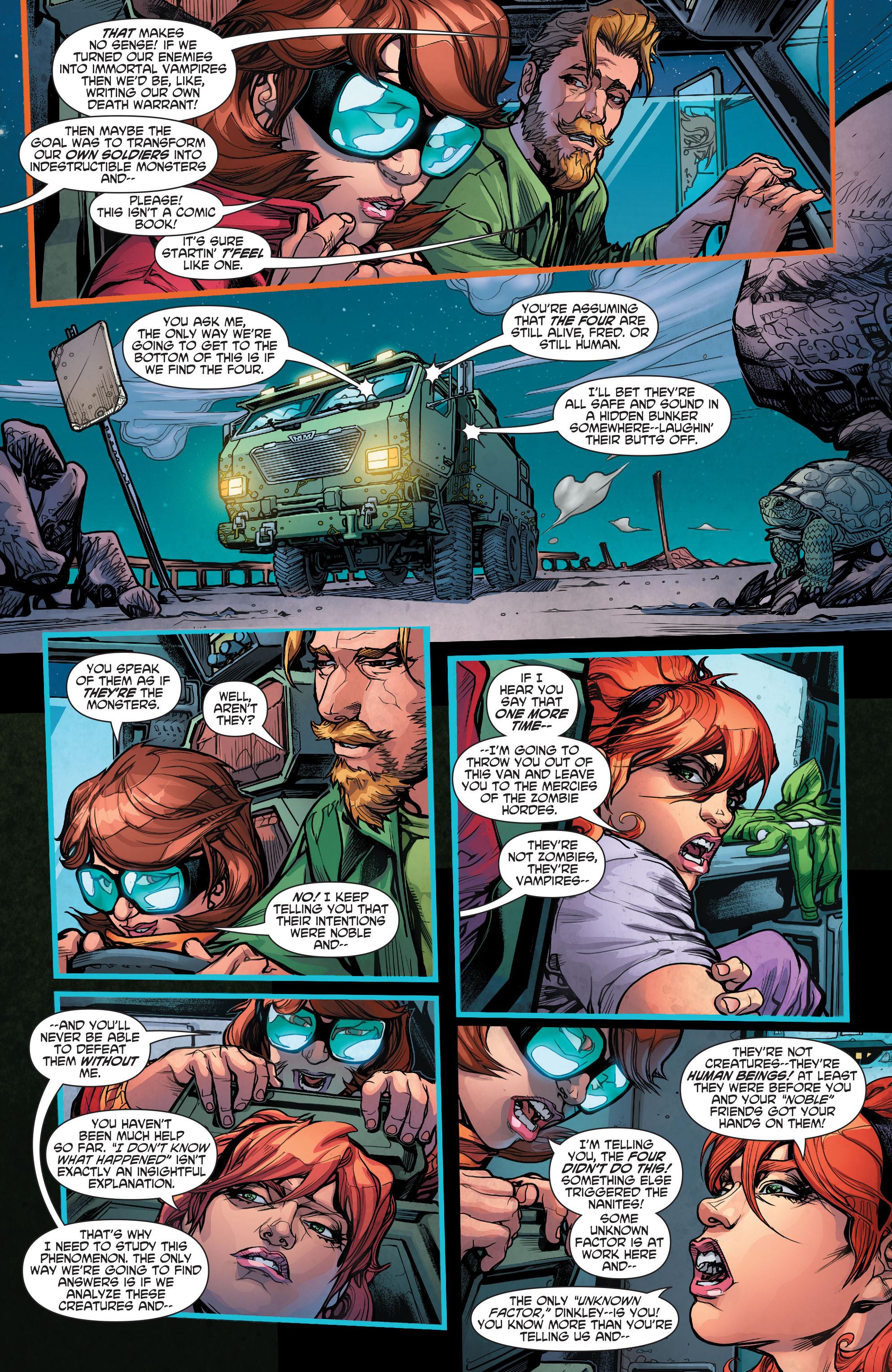 Read online Scooby Apocalypse comic -  Issue #4 - 15