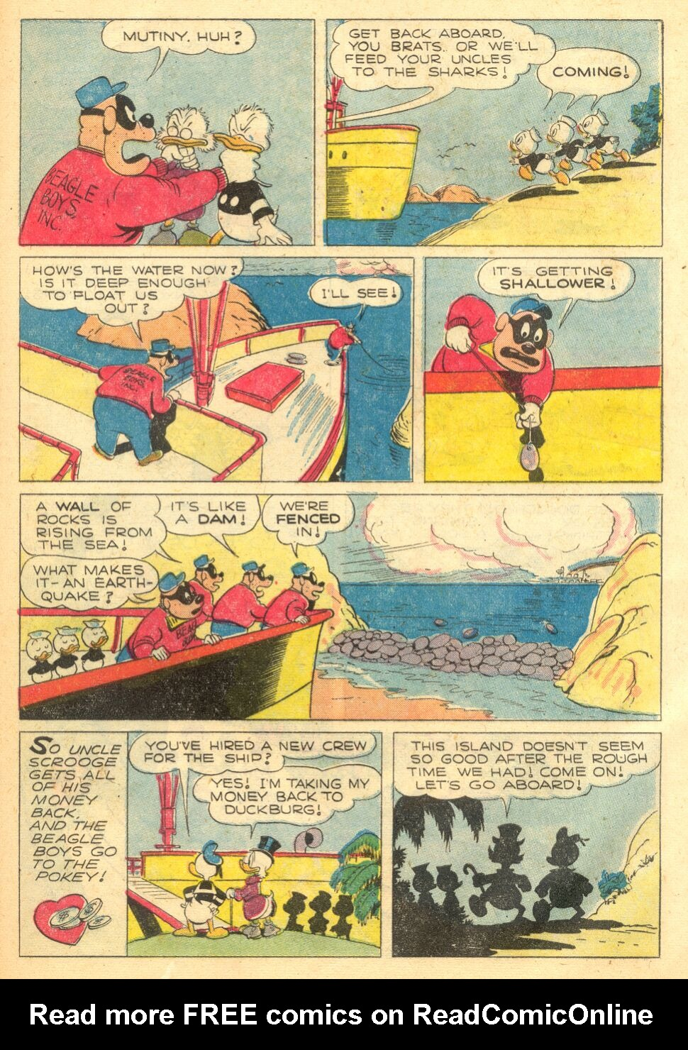 Uncle Scrooge (1953) Issue #4 #4 - English 33