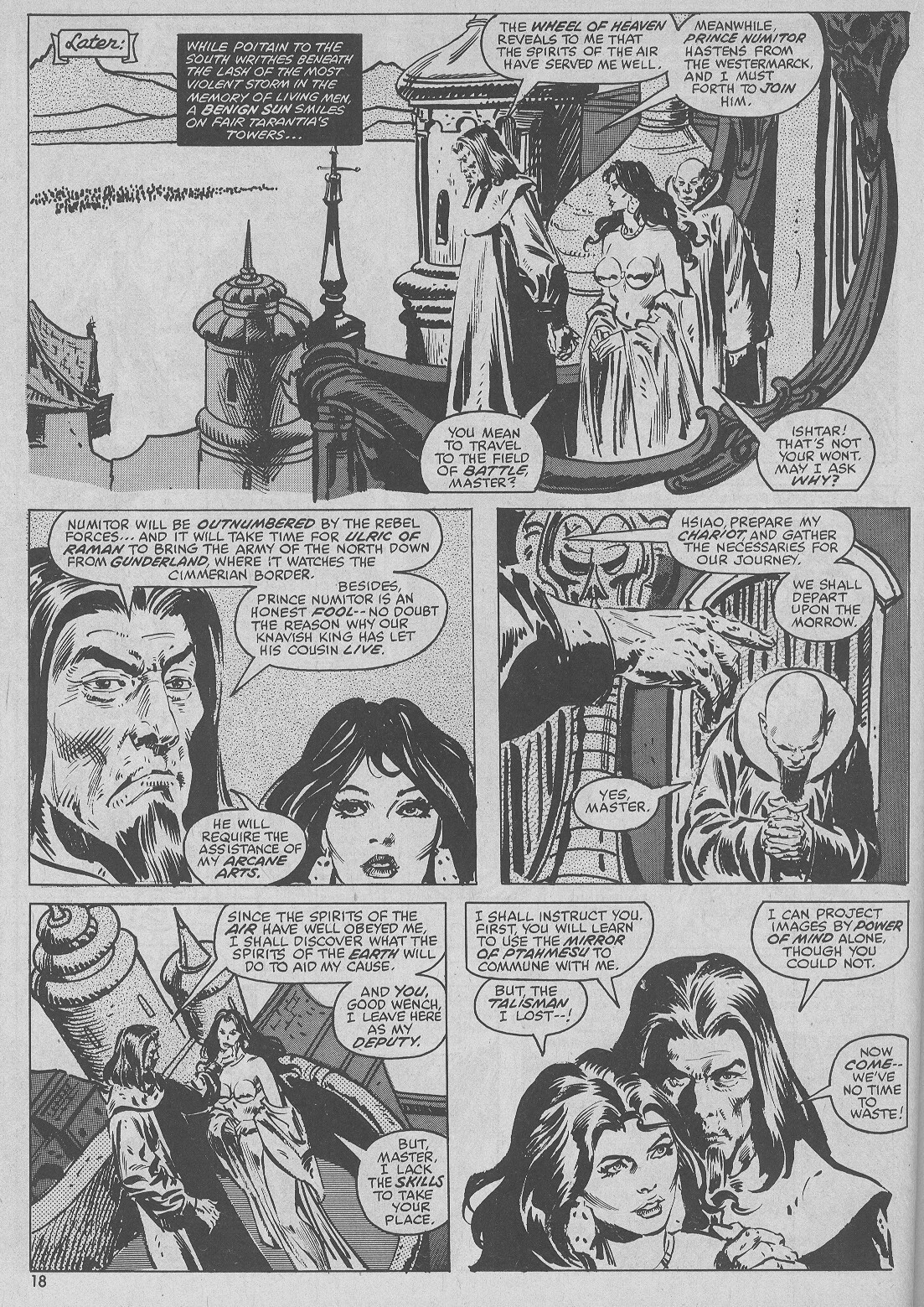 The Savage Sword Of Conan Issue #51 #52 - English 18