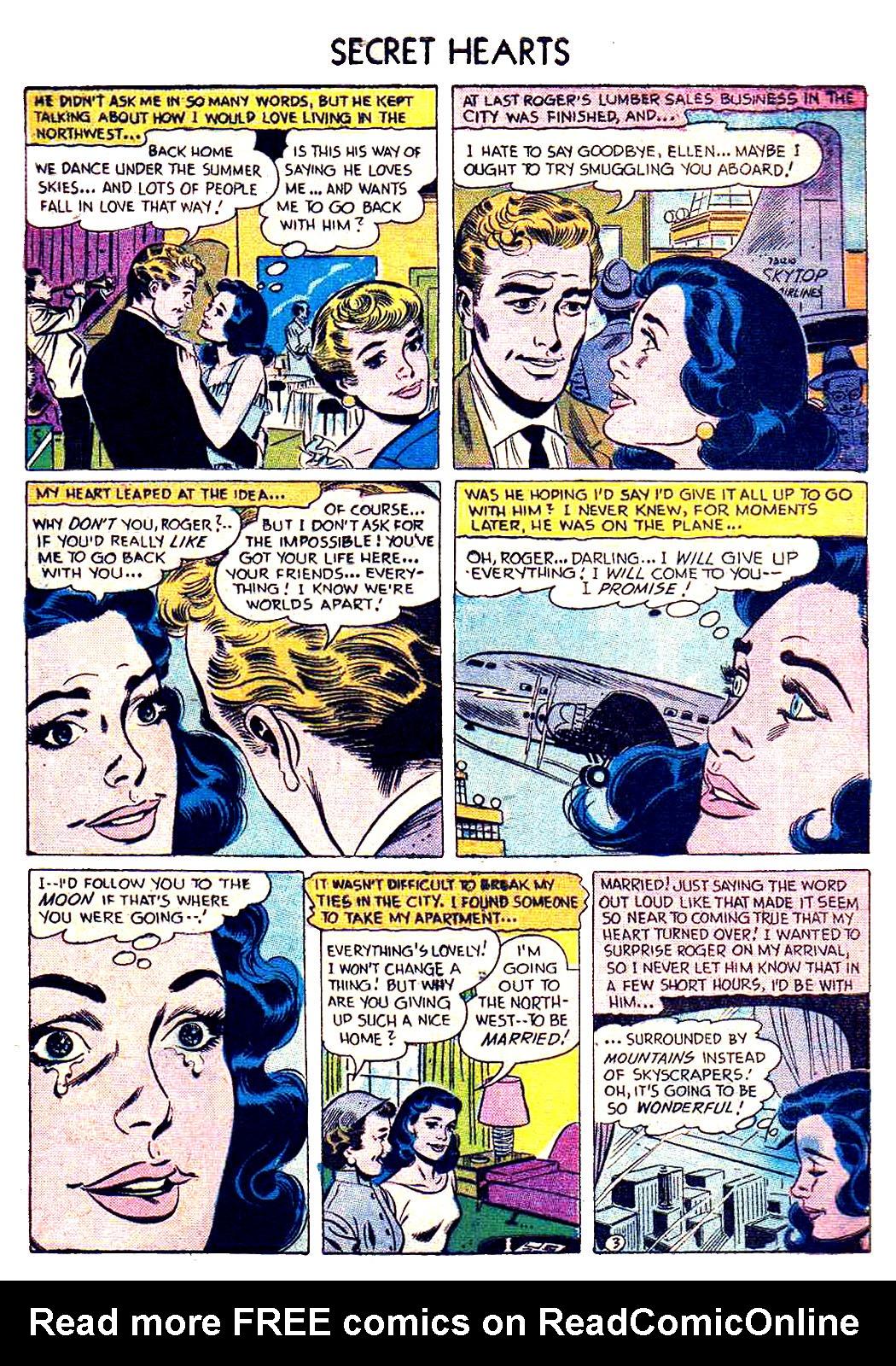 Read online Secret Hearts comic -  Issue #41 - 5
