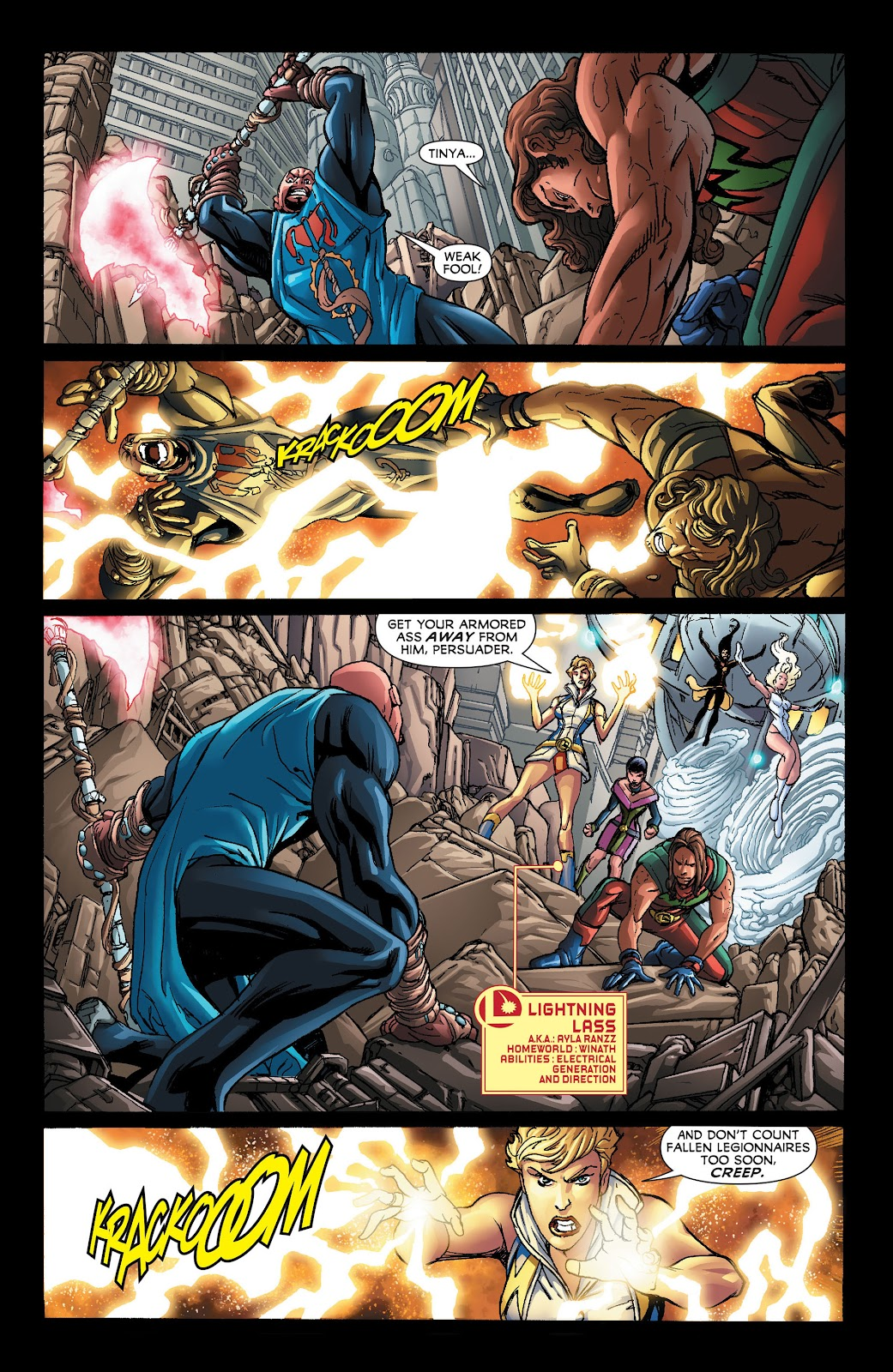 Legion of Super-Heroes (2011) Issue #21 #22 - English 12