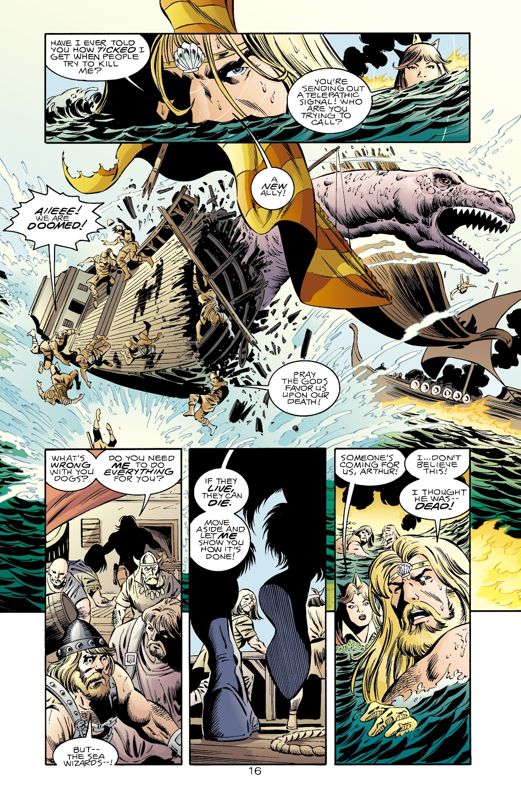 Aquaman (1994) Issue #71 #77 - English 16