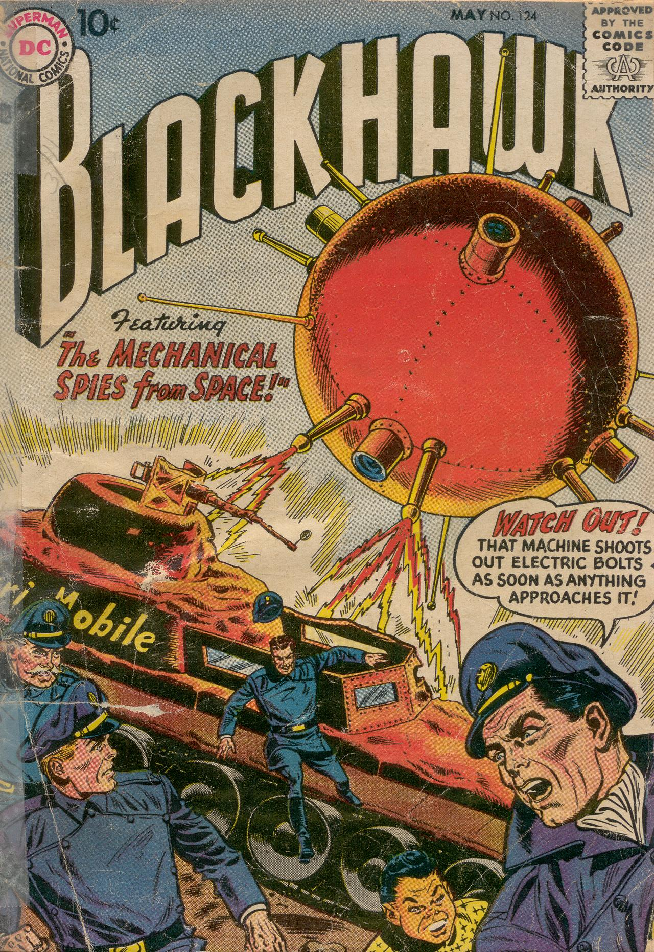 Blackhawk (1957) 124 Page 1