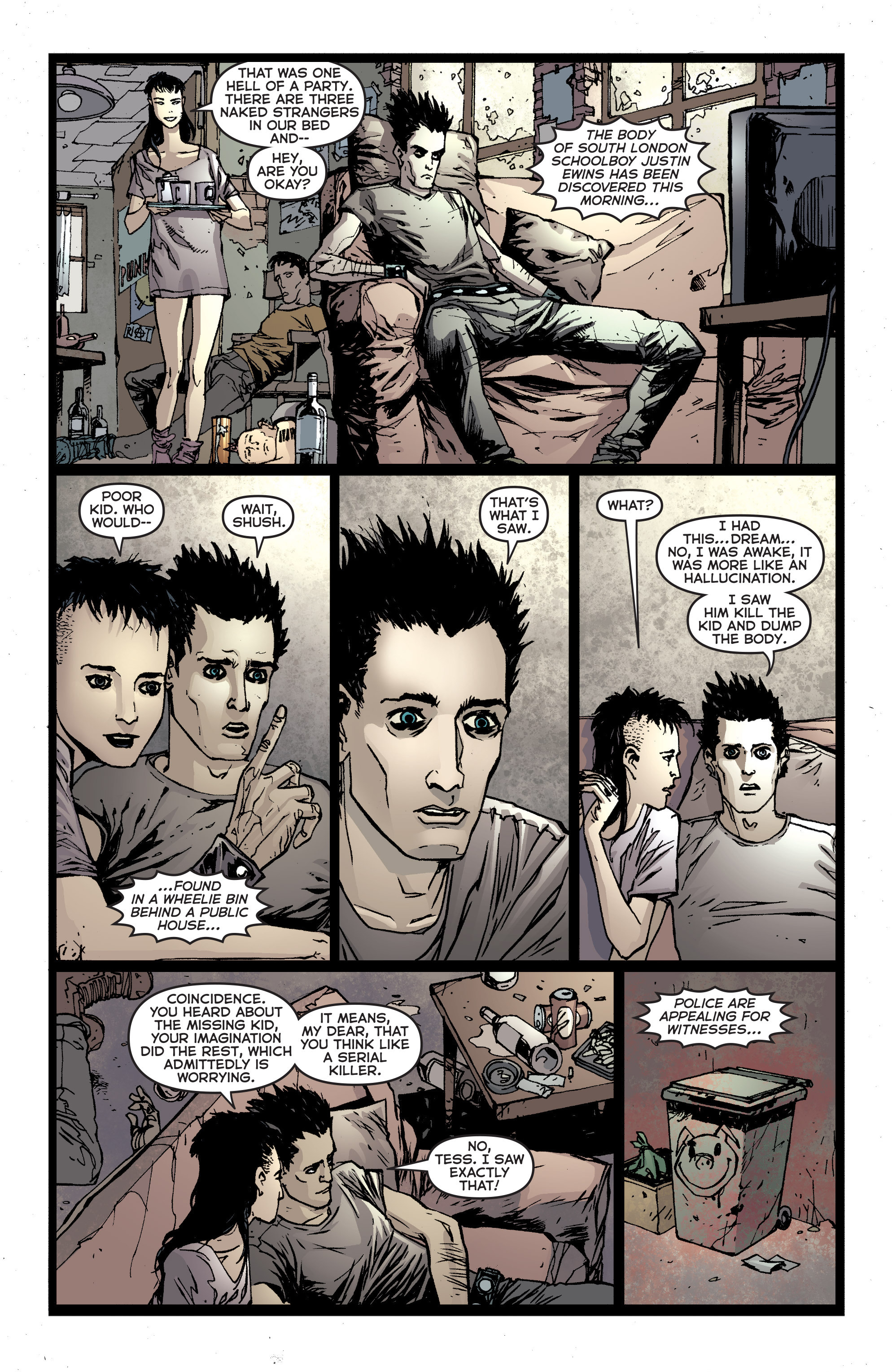 Read online Second Sight comic -  Issue #1 - 15