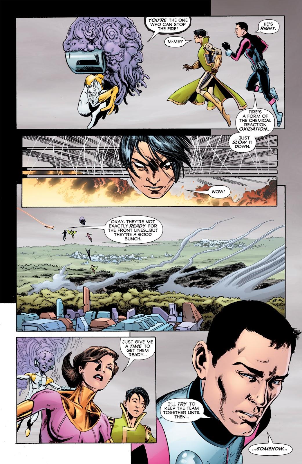 Legion of Super-Heroes (2010) Issue #6 #7 - English 28