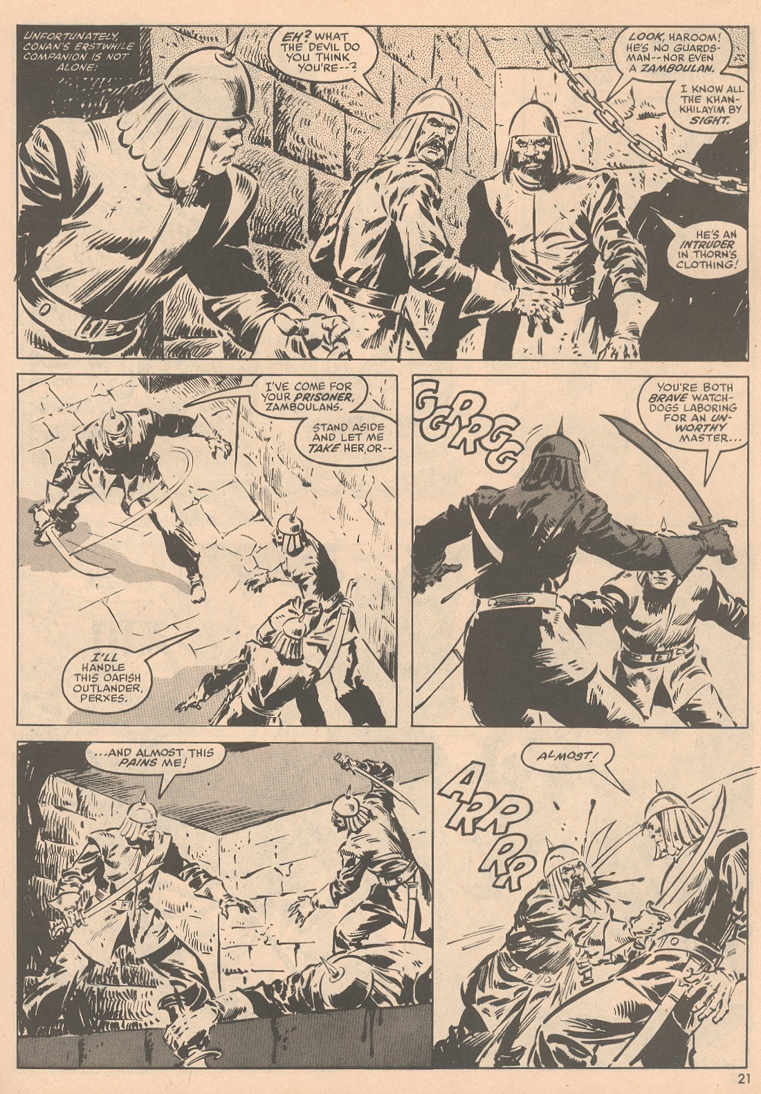 The Savage Sword Of Conan Issue #58 #59 - English 22