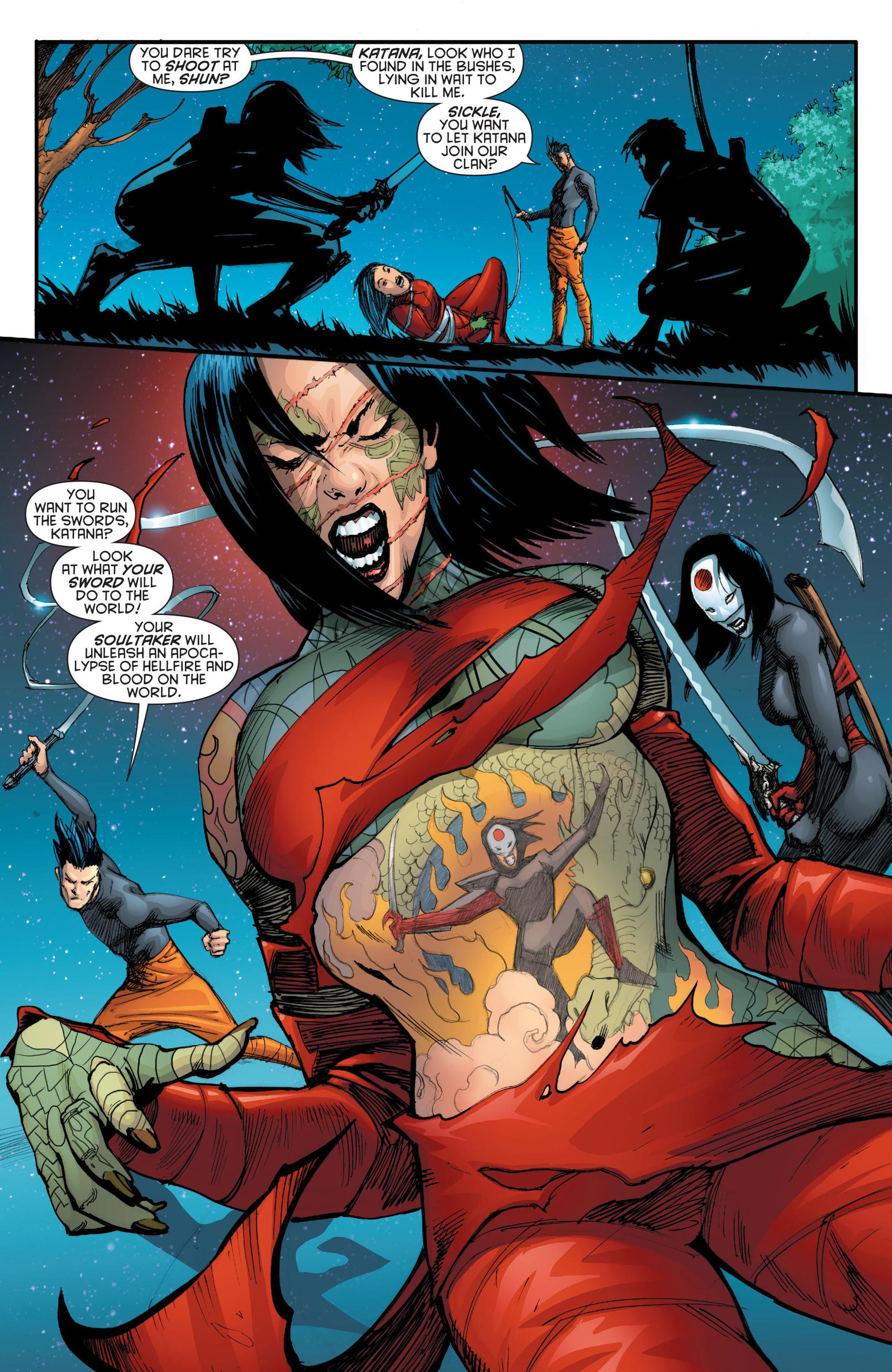 Read online Katana comic -  Issue #7 - 19