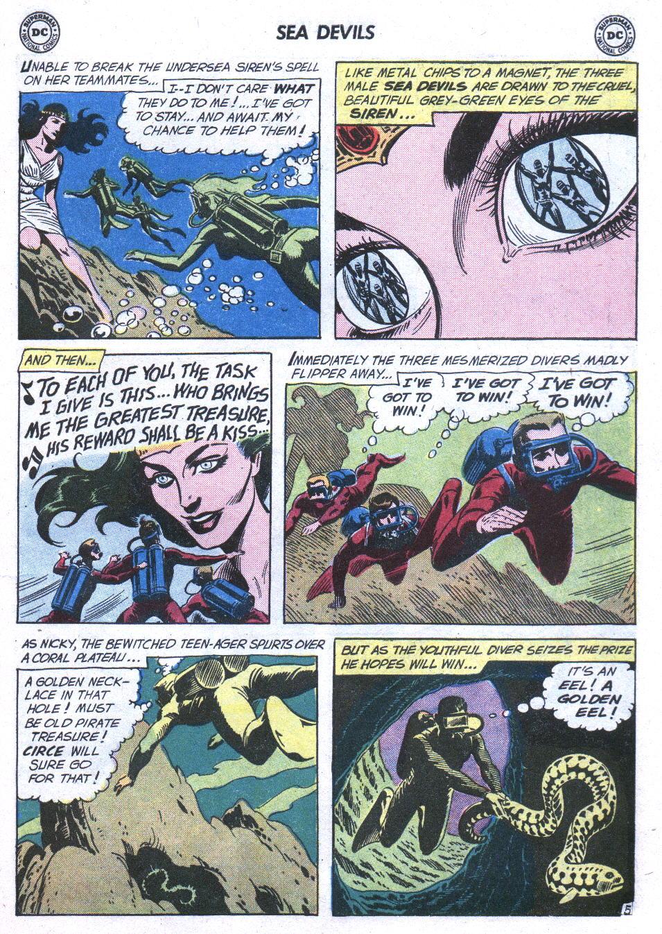 Read online Sea Devils comic -  Issue #3 - 24
