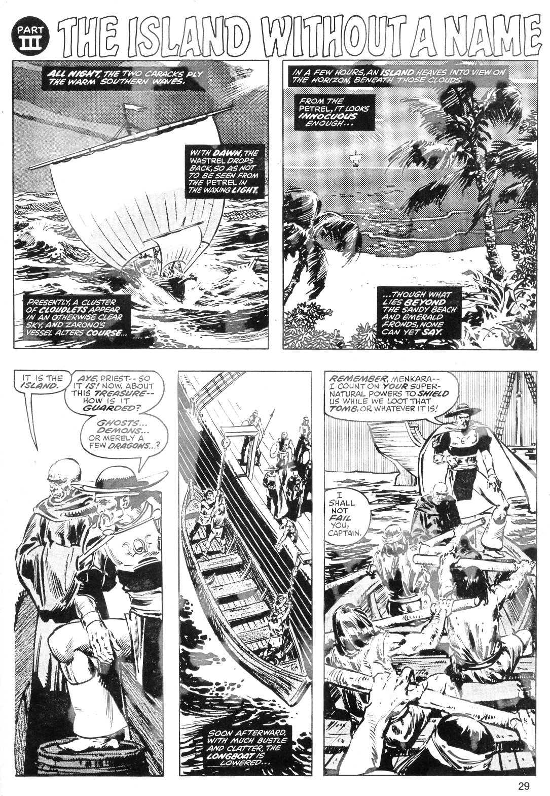 The Savage Sword Of Conan Issue #40 #41 - English 29