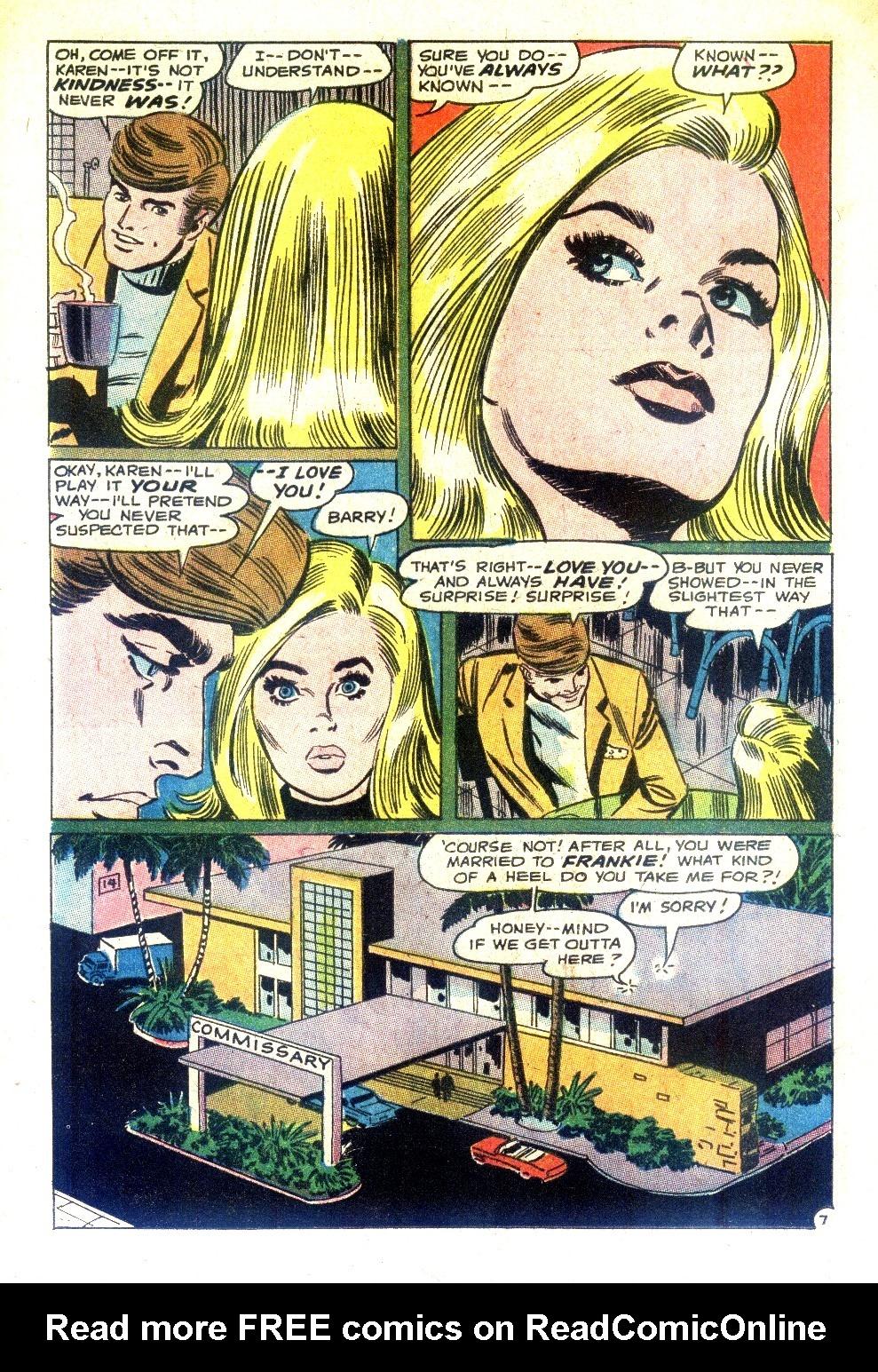 Read online Secret Hearts comic -  Issue #128 - 24