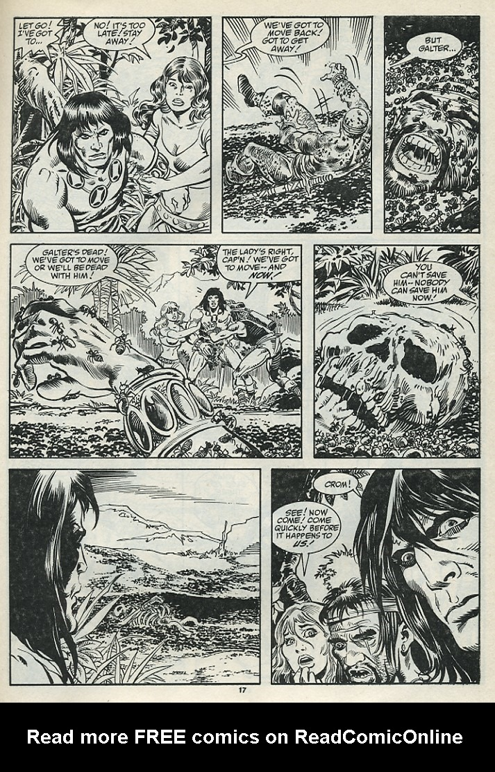 The Savage Sword Of Conan Issue #182 #183 - English 19