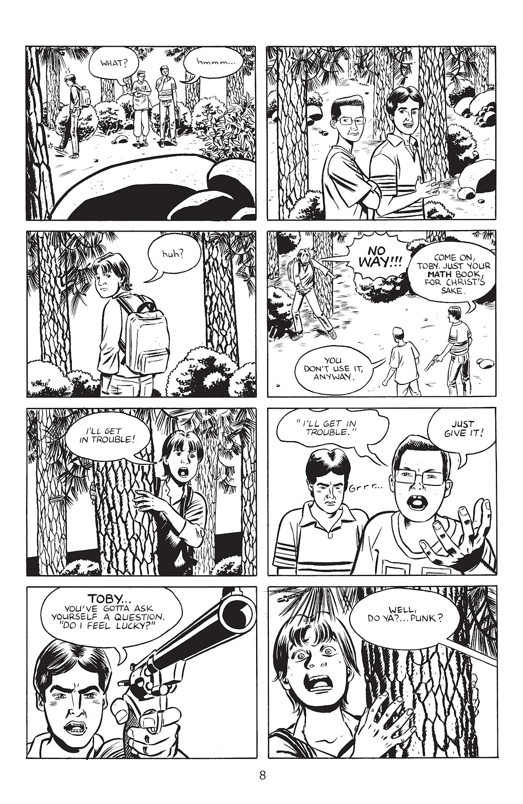 Stray Bullets Issue #30 #30 - English 10