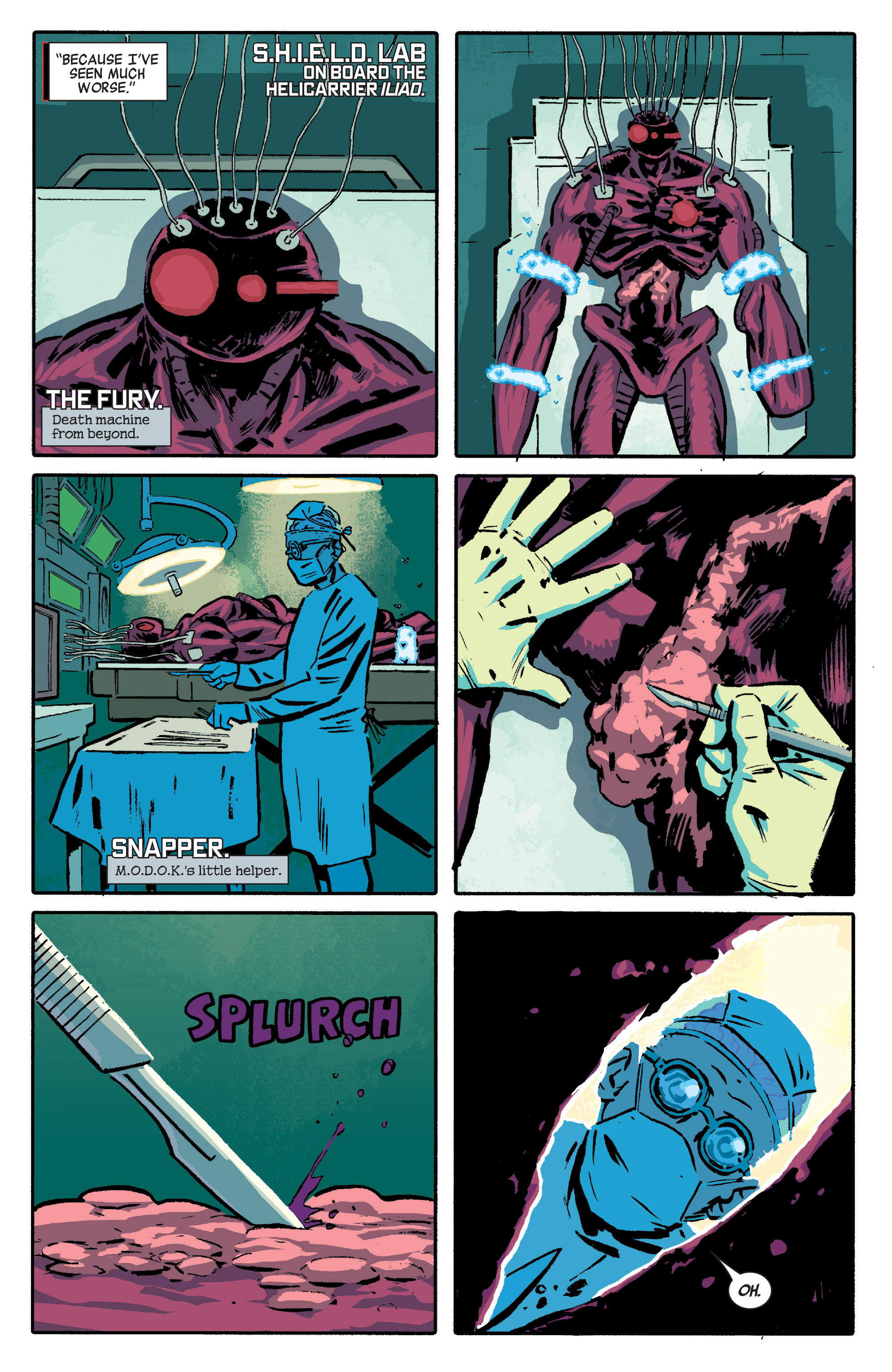 Read online Secret Avengers (2014) comic -  Issue #5 - 12