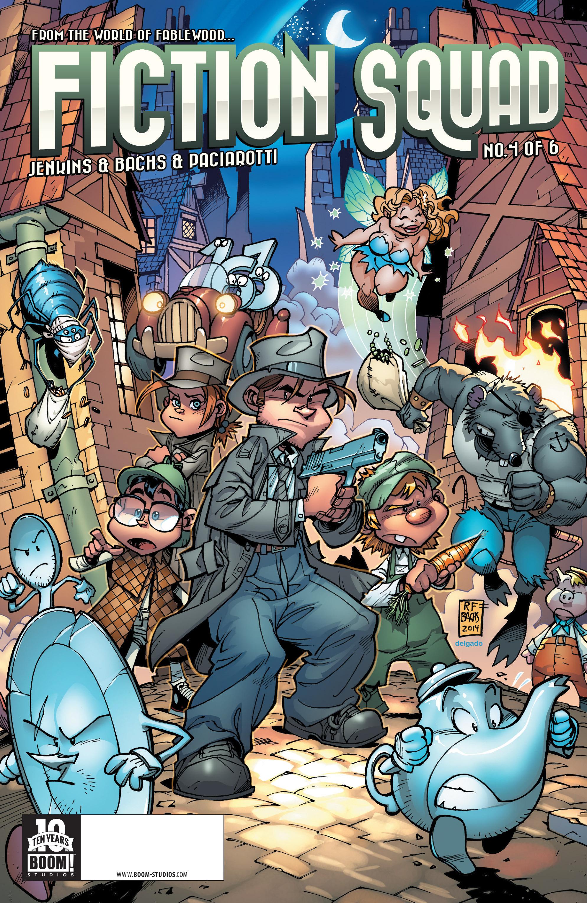 Fiction Squad 4 Page 1