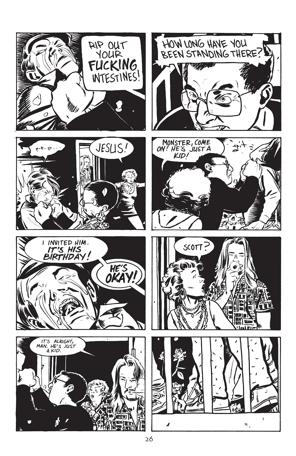 Stray Bullets Issue #5 #5 - English 28