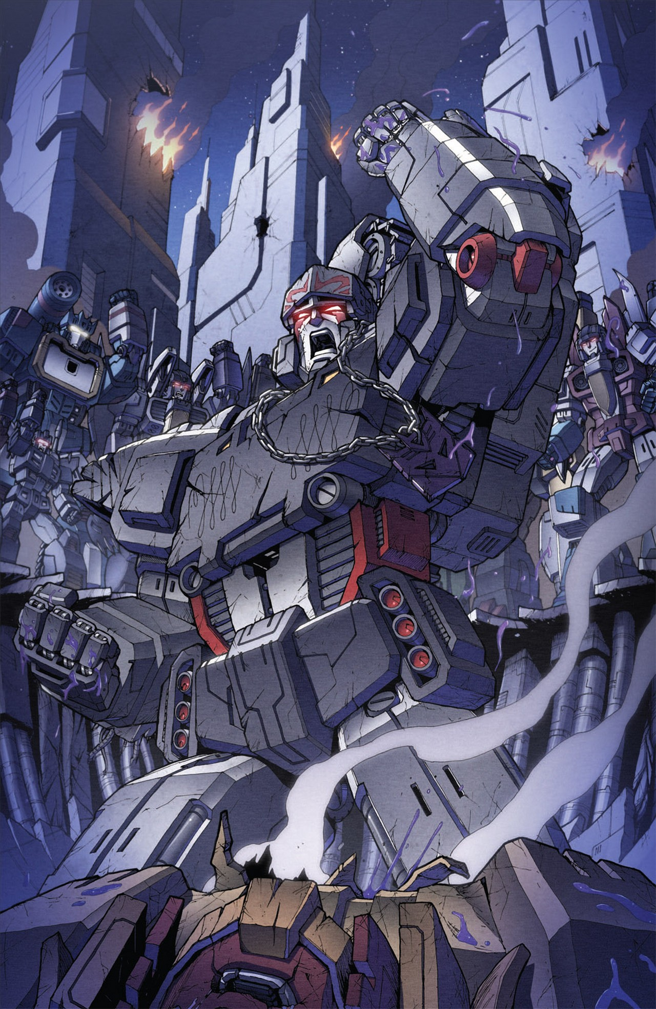 The Transformers (2009) chap 31 pic 8