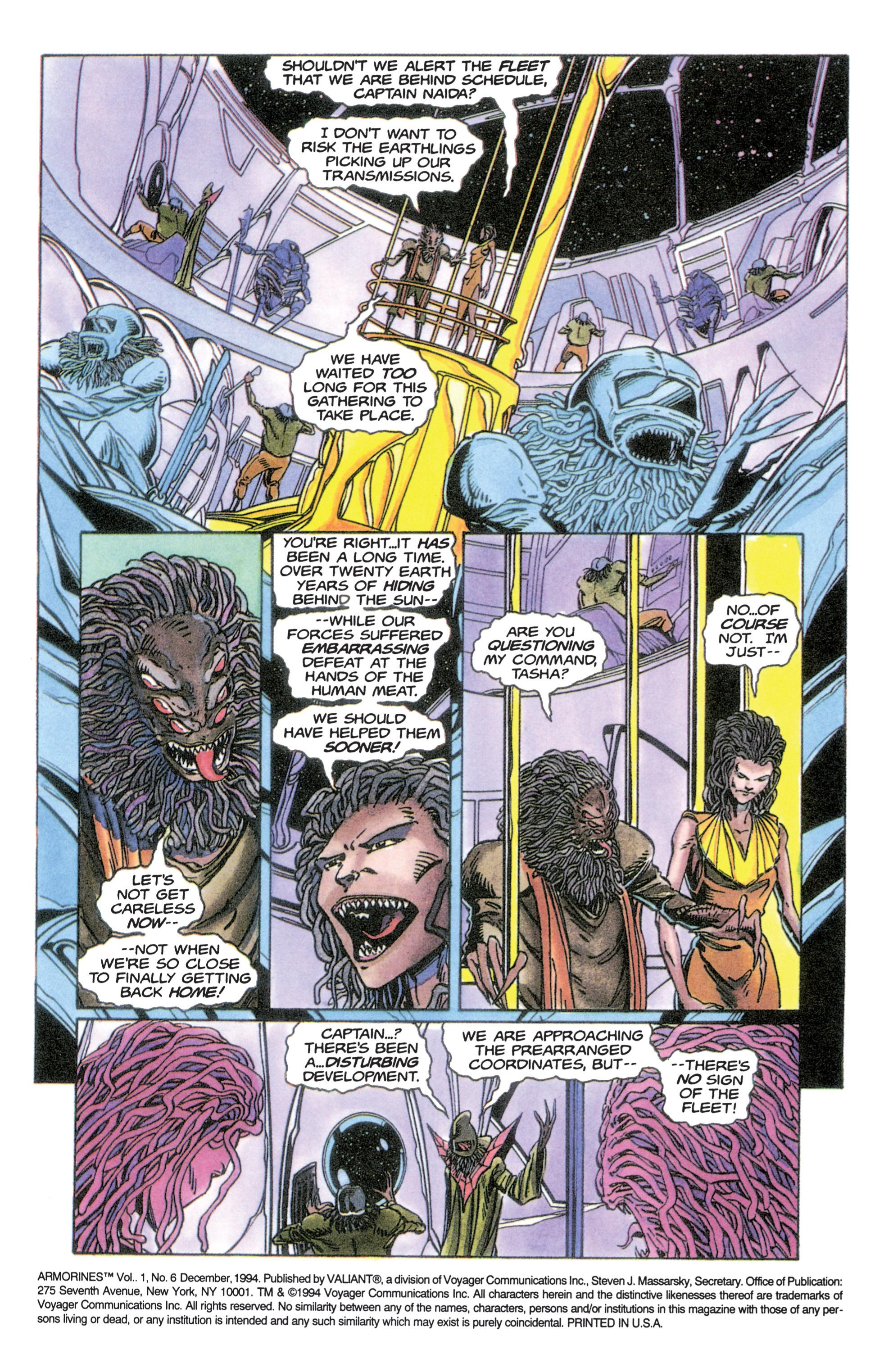 Armorines (1994) 6 Page 2