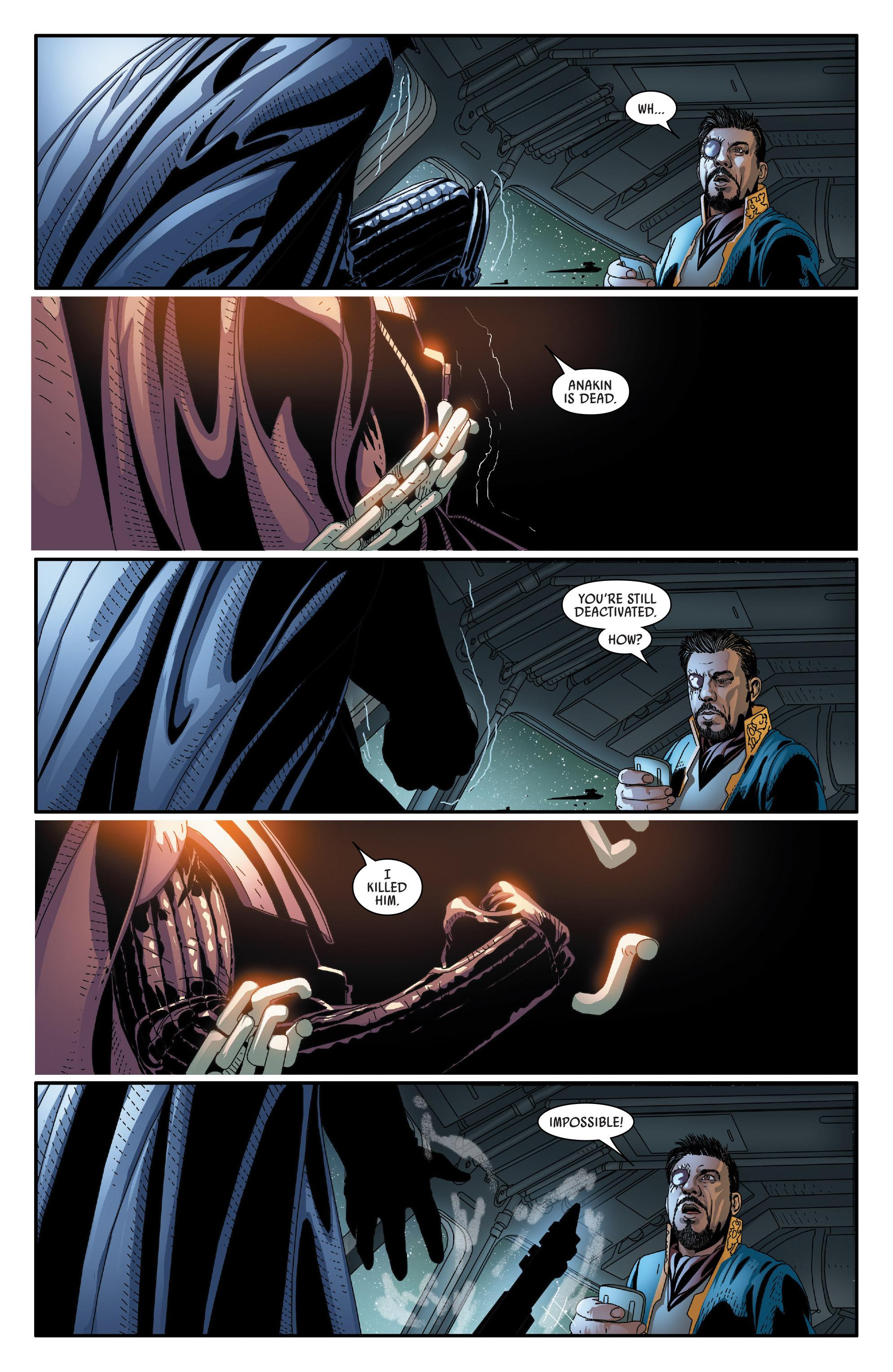 Read online Darth Vader comic -  Issue #24 - 17