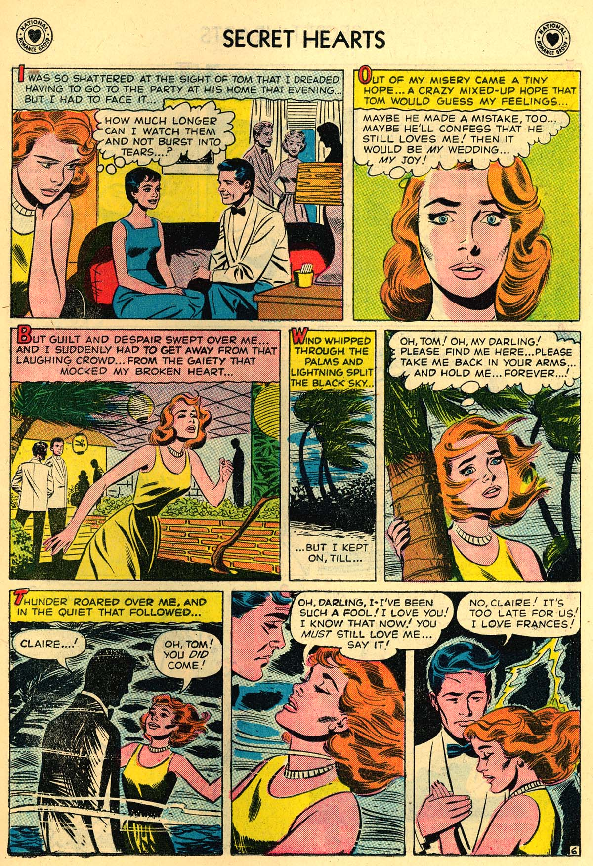 Read online Secret Hearts comic -  Issue #43 - 15