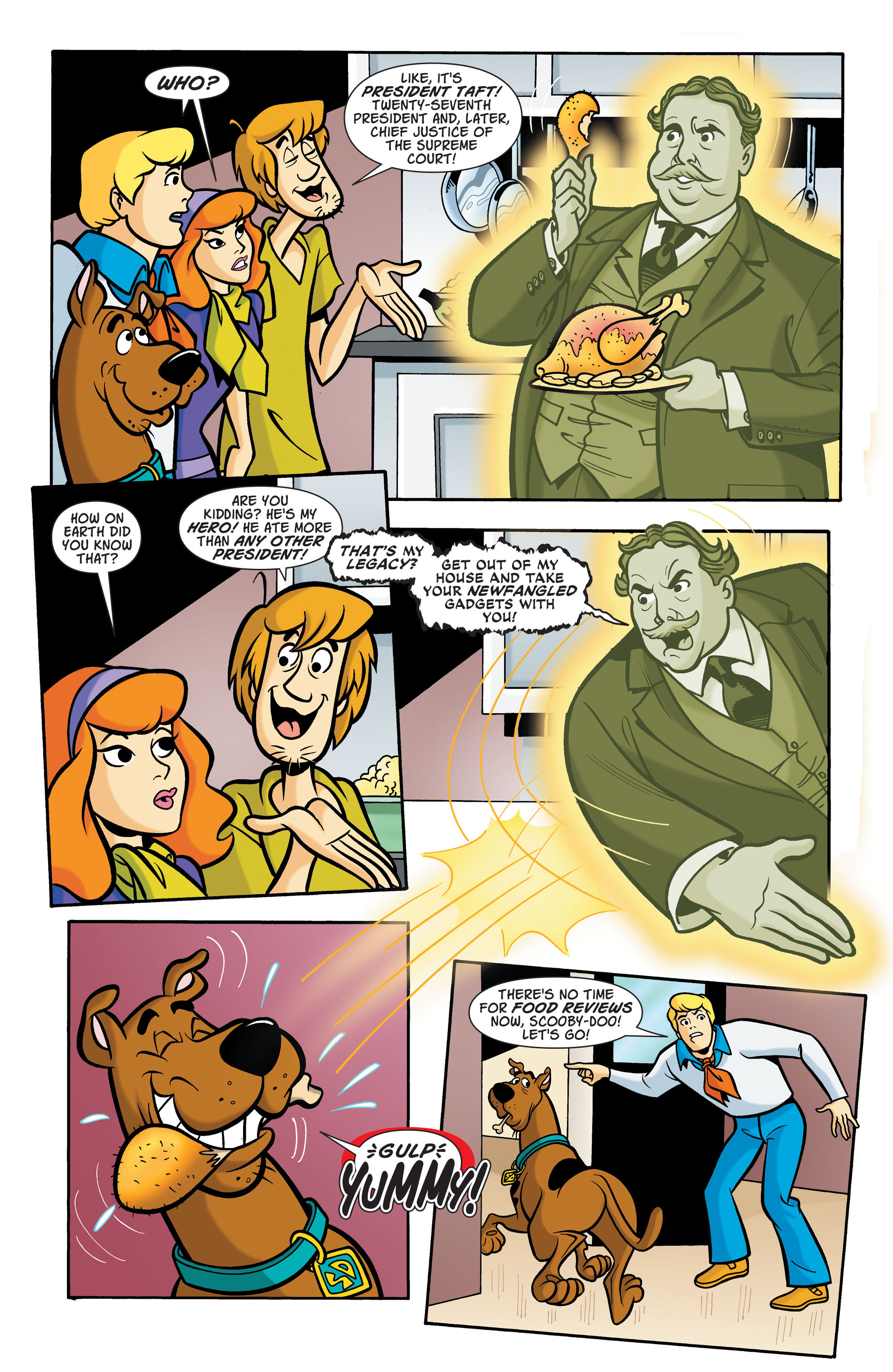 Read online Scooby-Doo: Where Are You? comic -  Issue #66 - 8