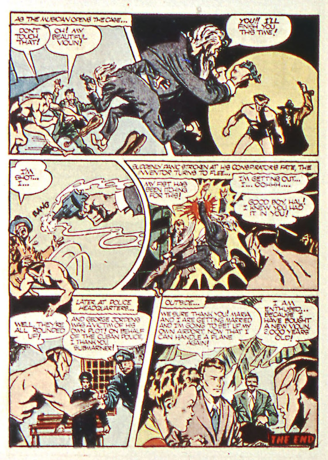 Sub-Mariner Comics Issue #16 #16 - English 24