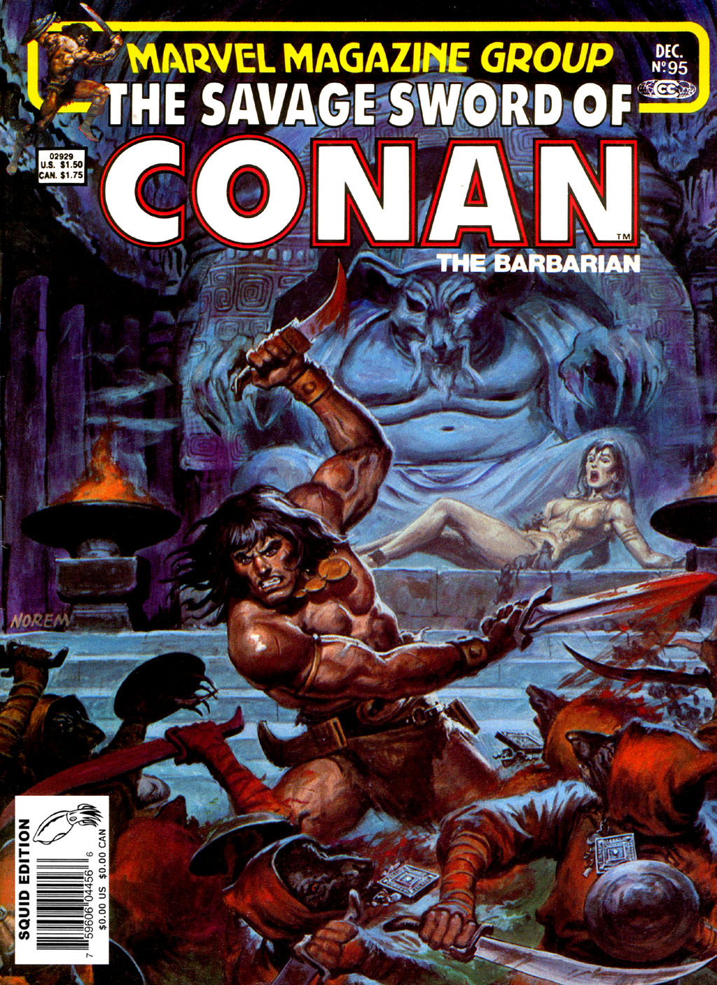 The Savage Sword Of Conan Issue #95 #96 - English 1