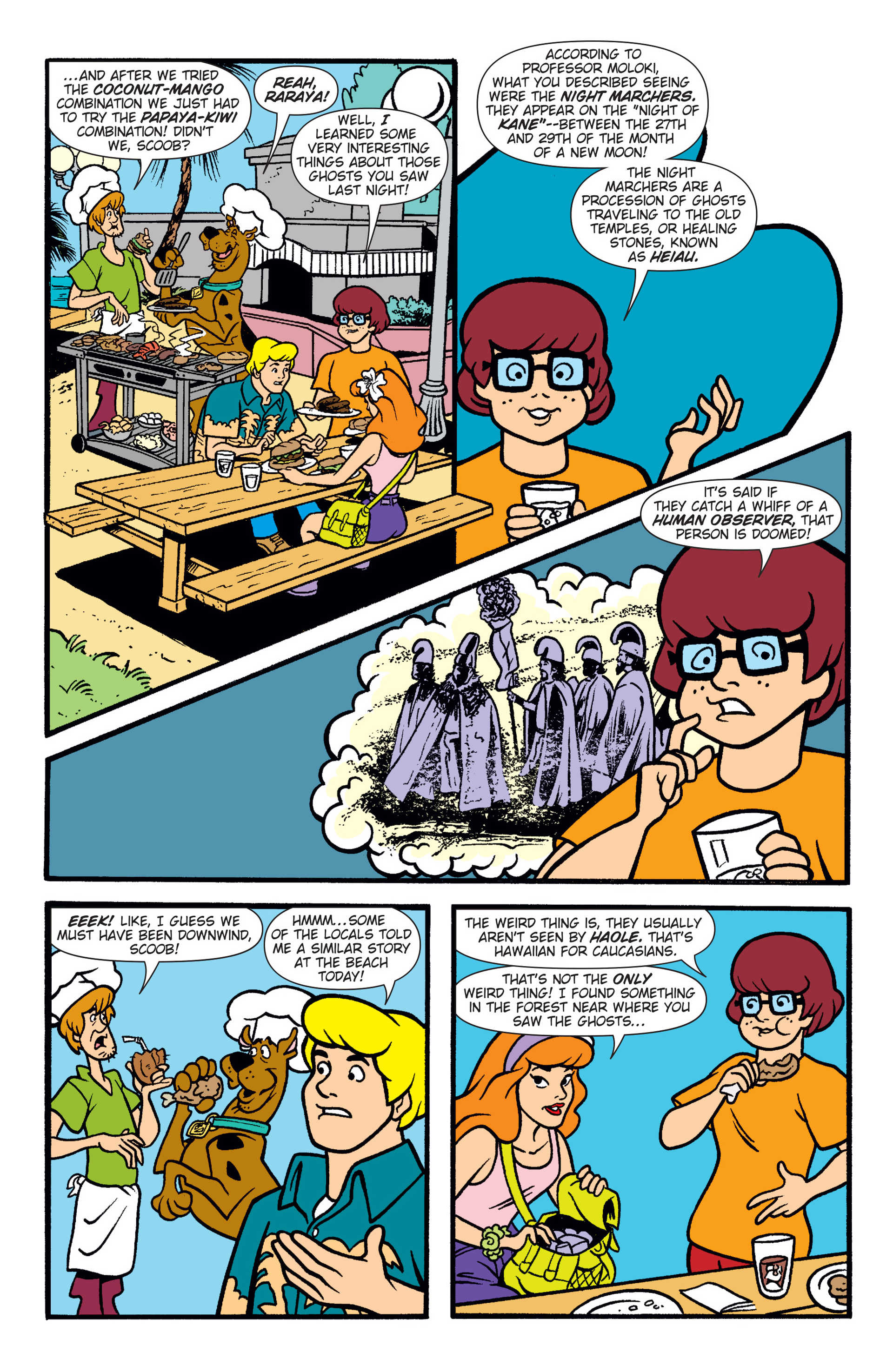 Read online Scooby-Doo: Where Are You? comic -  Issue #47 - 18