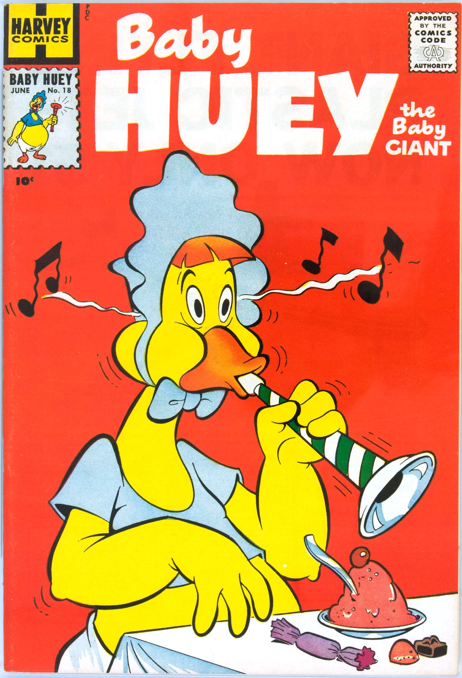 Baby Huey, the Baby Giant 18 Page 1
