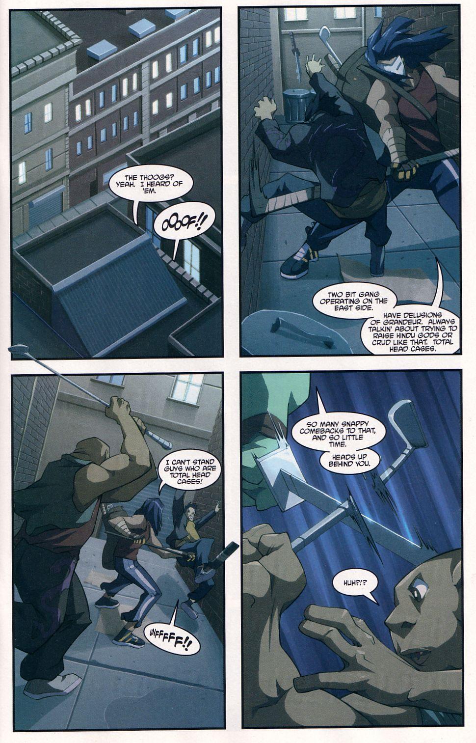Teenage Mutant Ninja Turtles (2003) chap 7 pic 5
